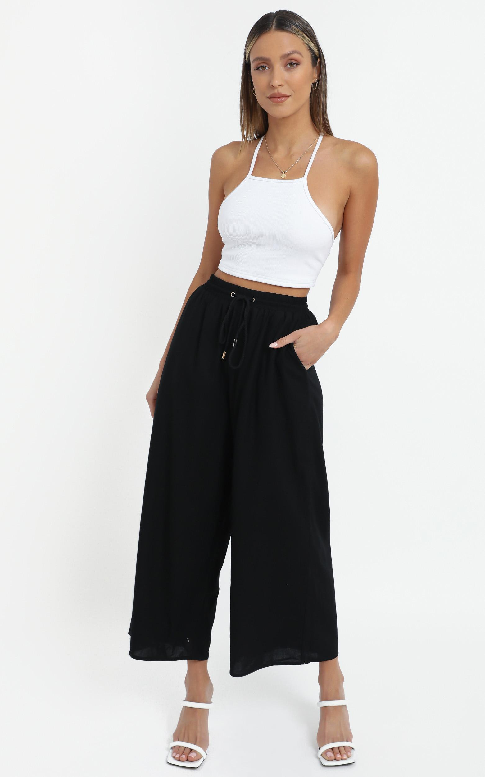 Chenoa Pants in Black - 14 (XL), Black, hi-res image number null