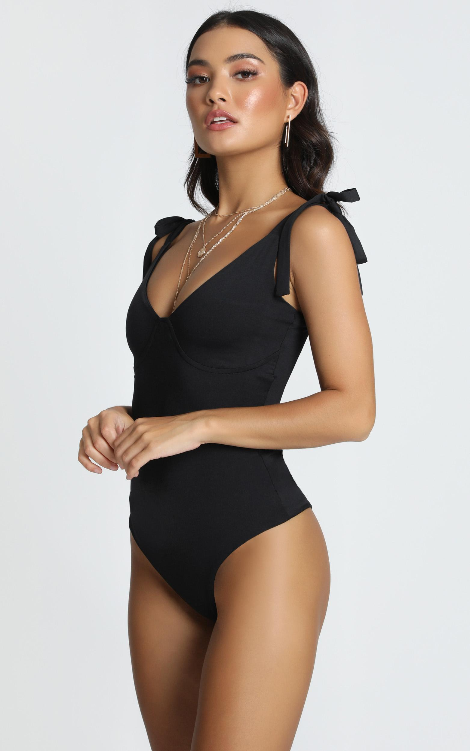 Wanna Be There Bodysuit in black - 12 (L), Black, hi-res image number null