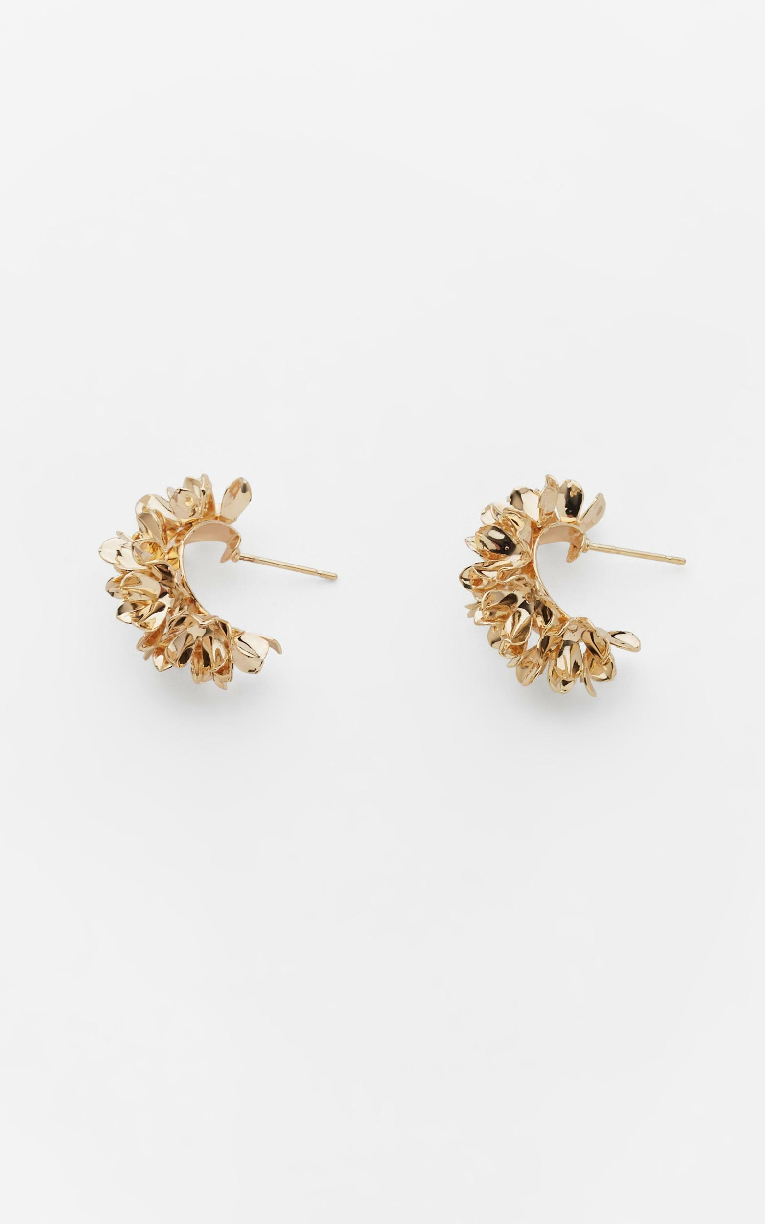 Reliquia - Wreath Earrings in Gold, Gold, hi-res image number null