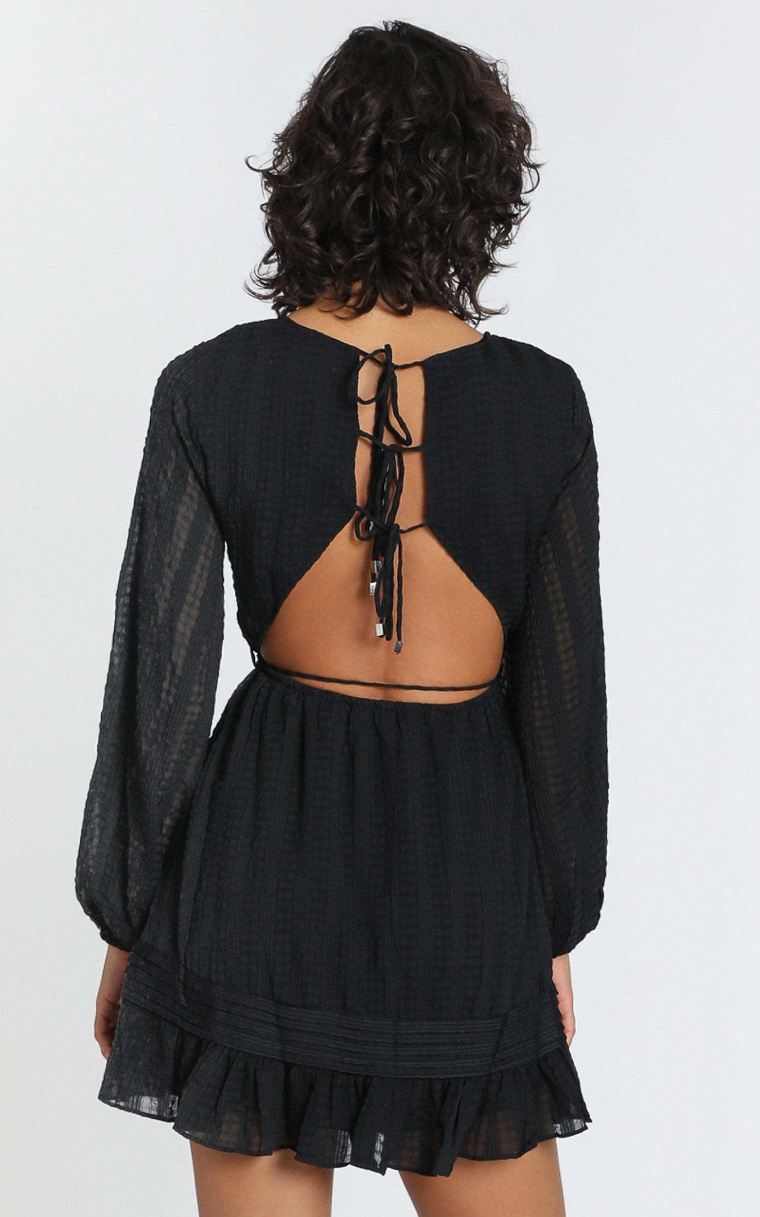 Marlena Dress in Black - 6 (XS), Black, hi-res image number null