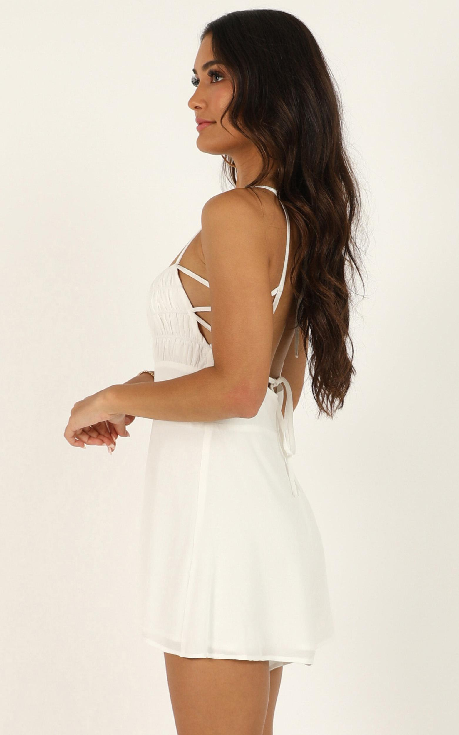 Nothing specific Playsuit in white - 14 (XL), White, hi-res image number null