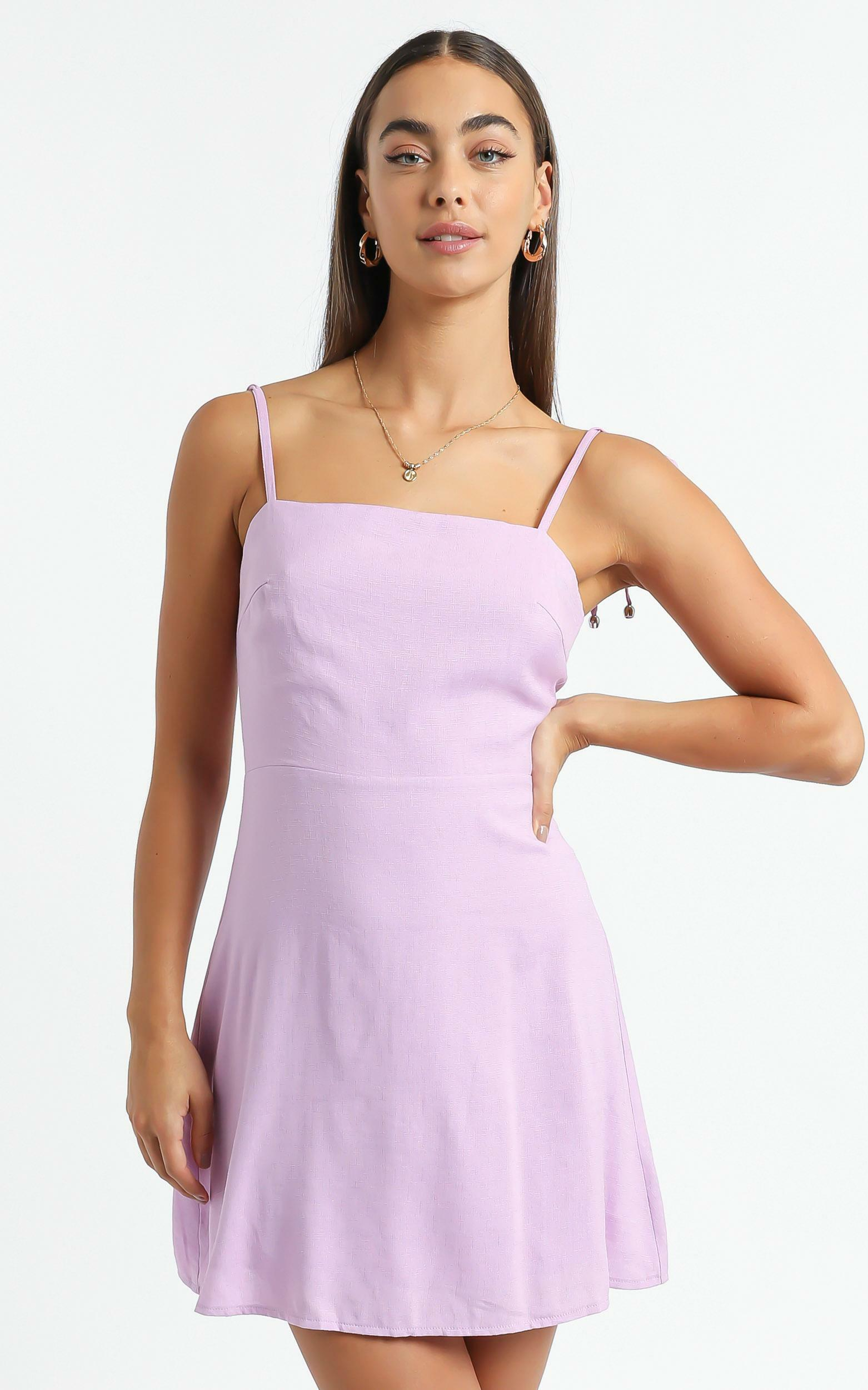 Afternoon Glow Dress in Lilac - 4 (XXS), Purple, hi-res image number null