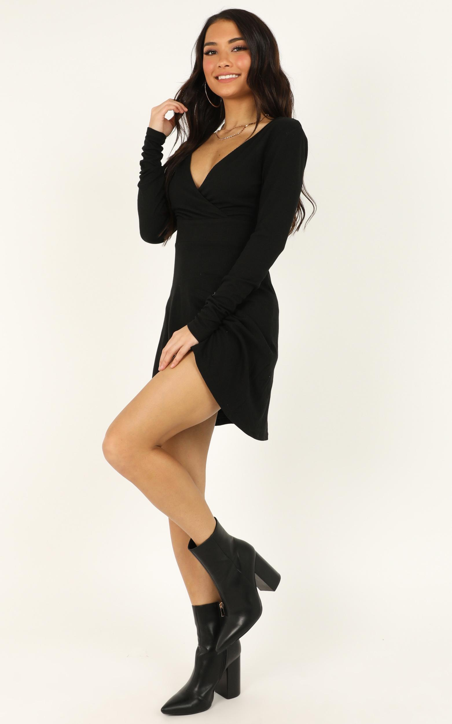 Loving It Right Dress In black - 20 (XXXXL), Black, hi-res image number null