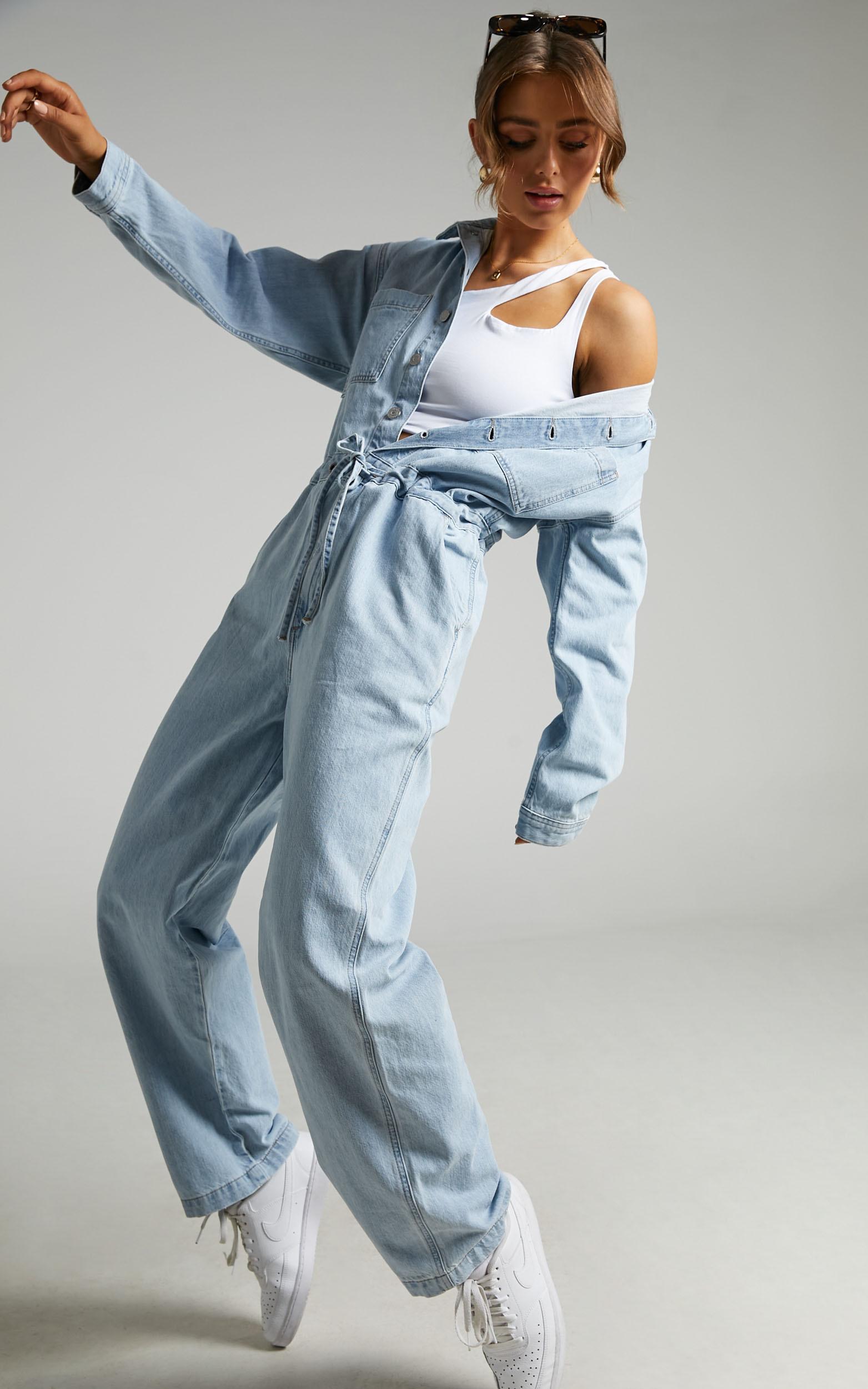 Levis - Roomy Jumpsuit in My Feels - 06, BLU1, hi-res image number null