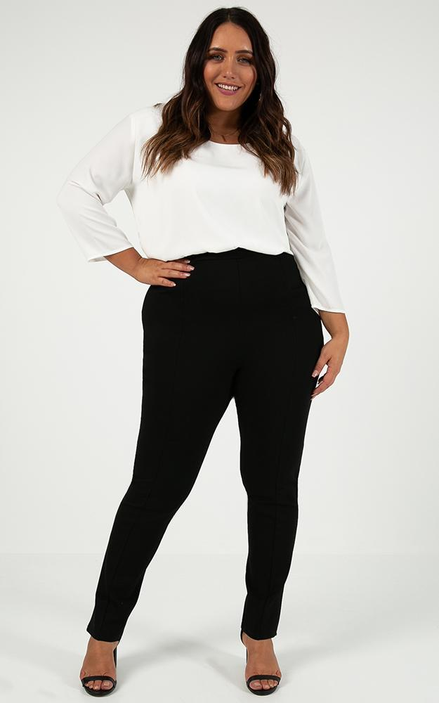 Silent Night pants in black - 20 (XXXXL), Black, hi-res image number null