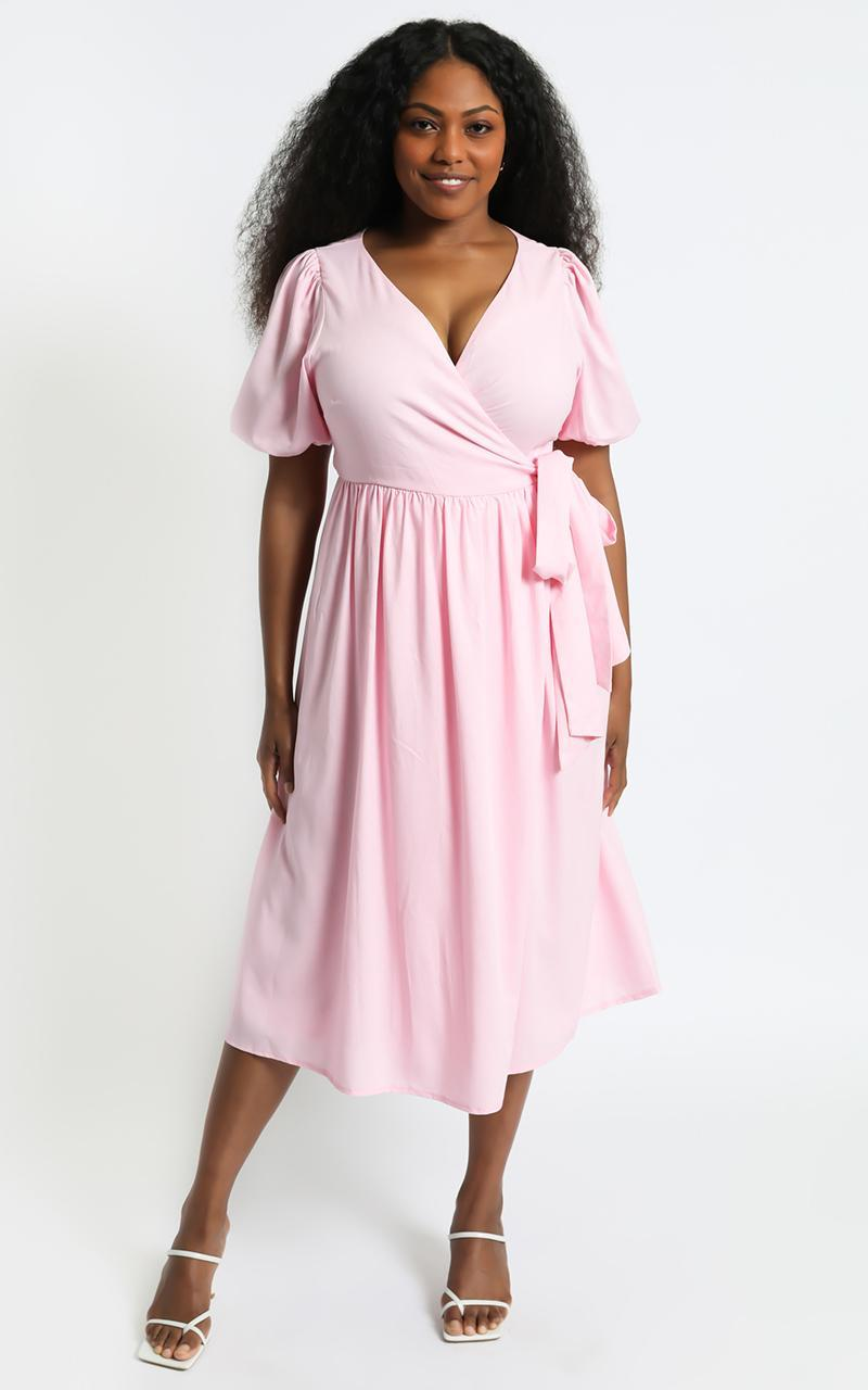 Morgandy Dress in Pink - 6 (XS), Pink, hi-res image number null