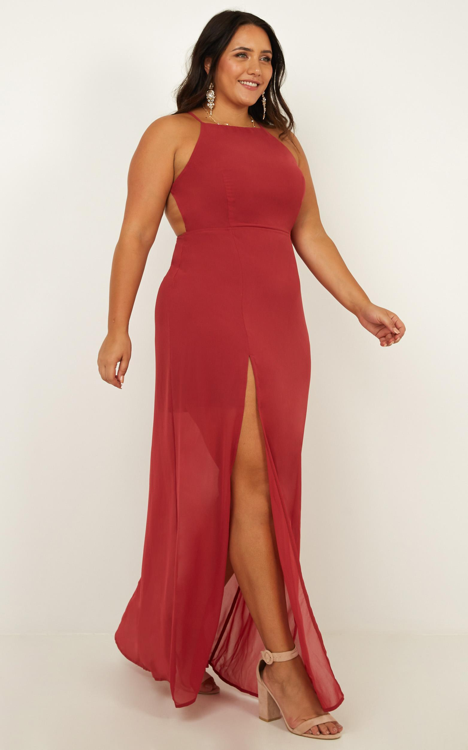 Night About You Dress in dusty rose - 20 (XXXXL), Pink, hi-res image number null