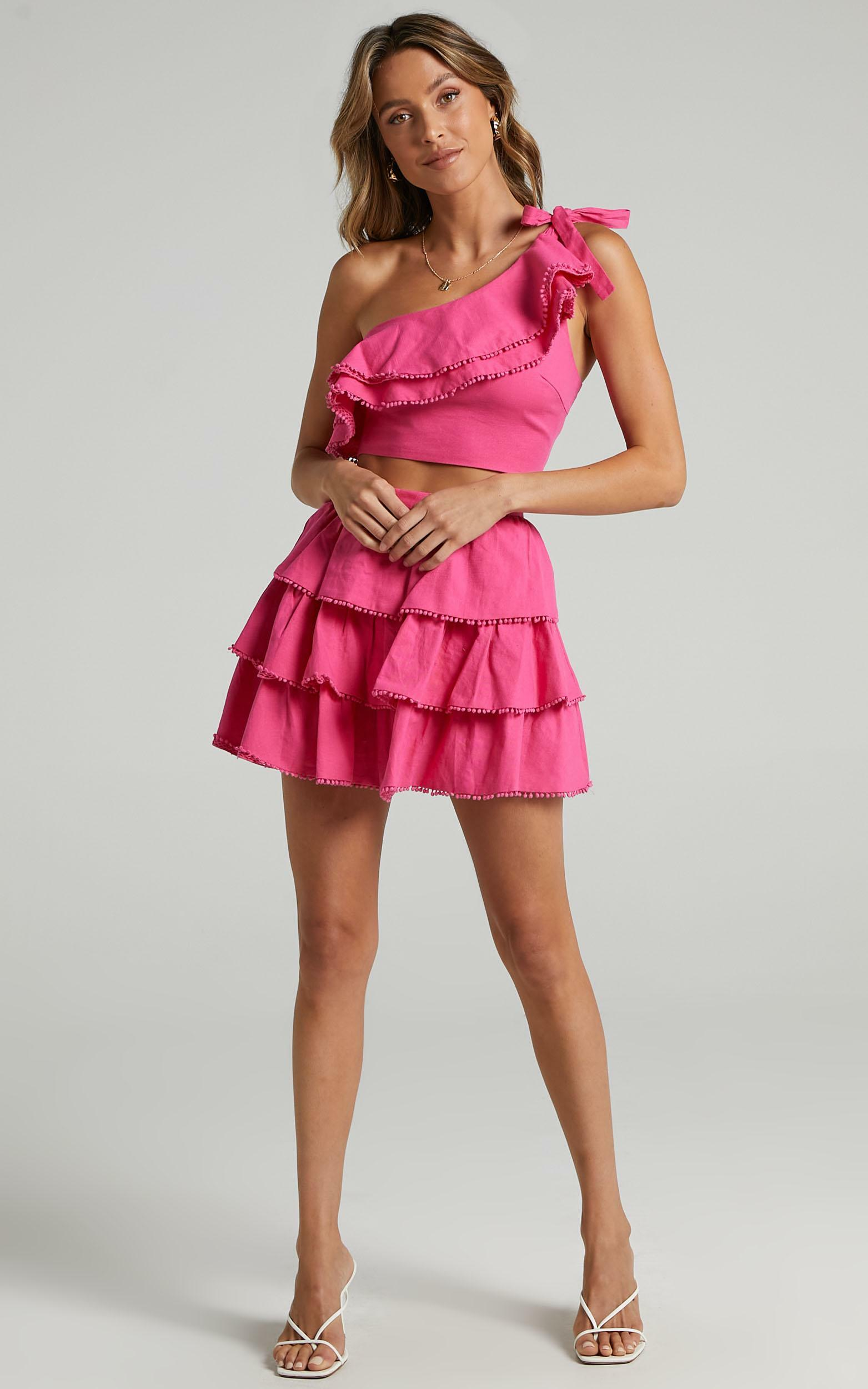 Rooftop Spritz Two Piece Set in hot pink - 20 (XXXXL), PNK11, hi-res image number null