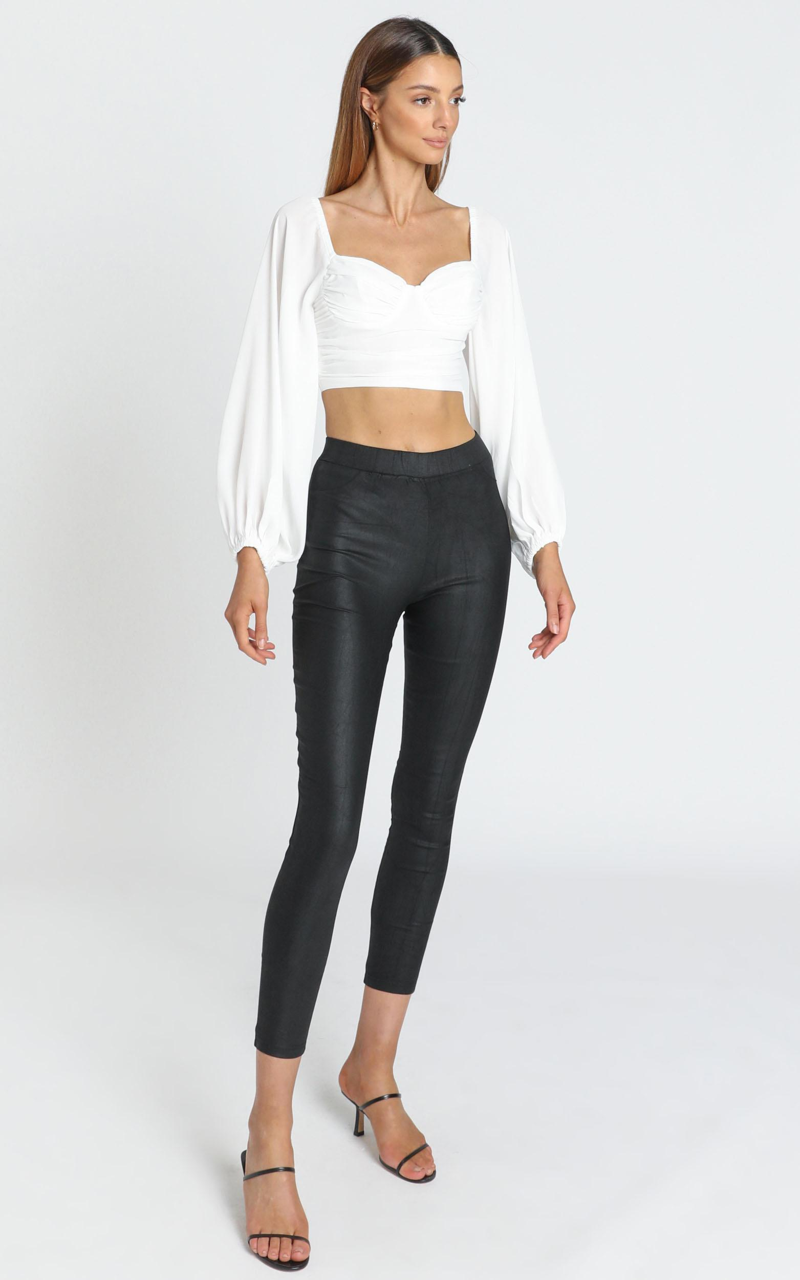 Fallon Top in White - 6 (XS), White, hi-res image number null