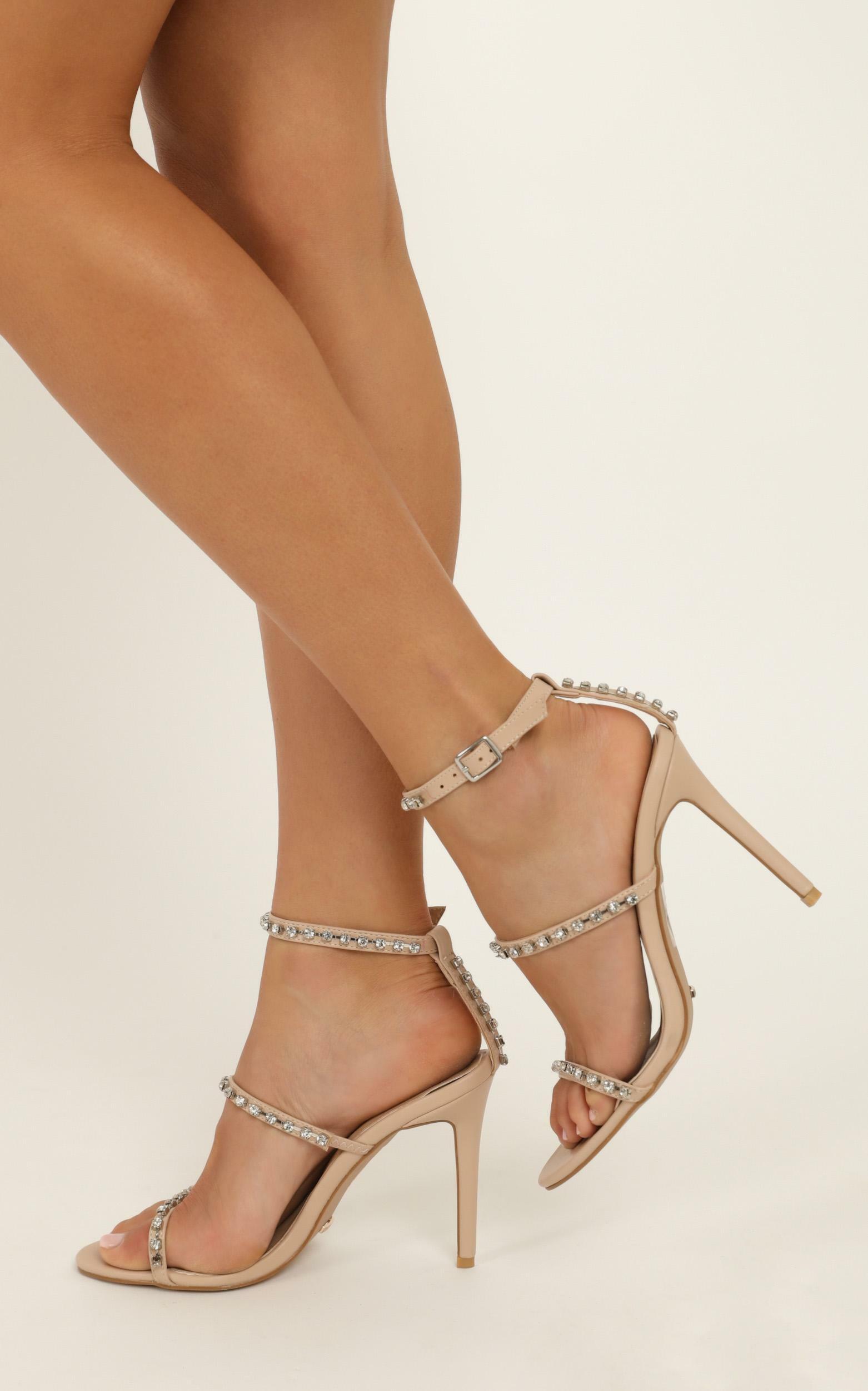 Billini - Talia Heels In nude - 10, Beige, hi-res image number null