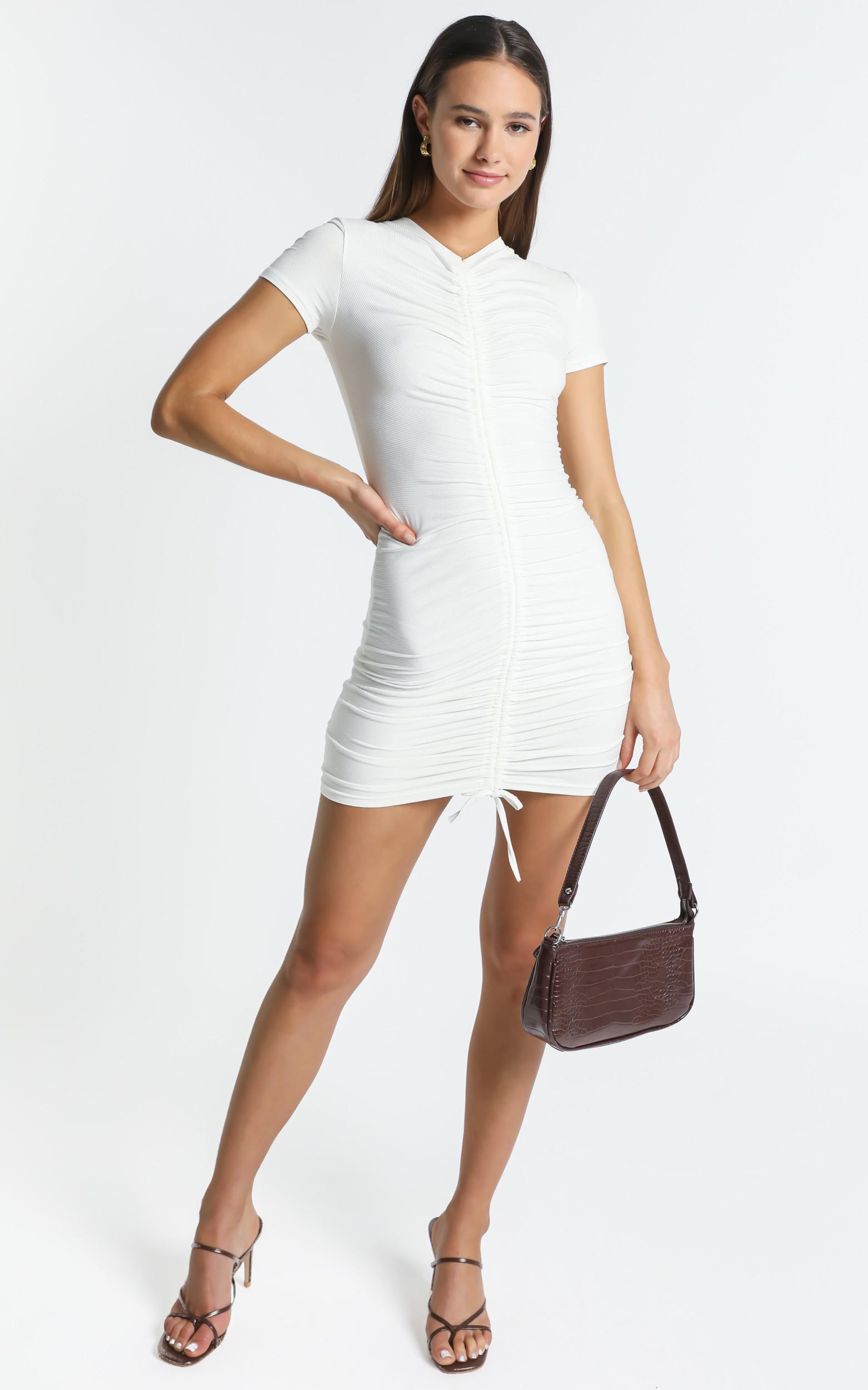 Kayne Dress in White - 6 (XS), White, hi-res image number null