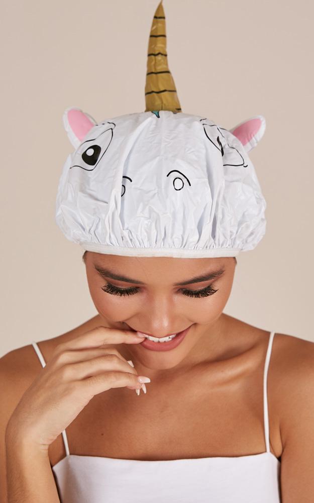 Unicorn Shower Cap , , hi-res image number null