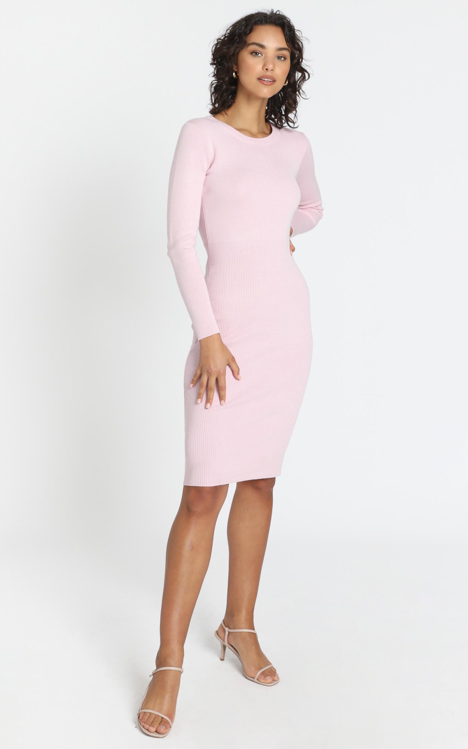 Irina Dress in Baby Pink - XS/S, PNK1, hi-res image number null