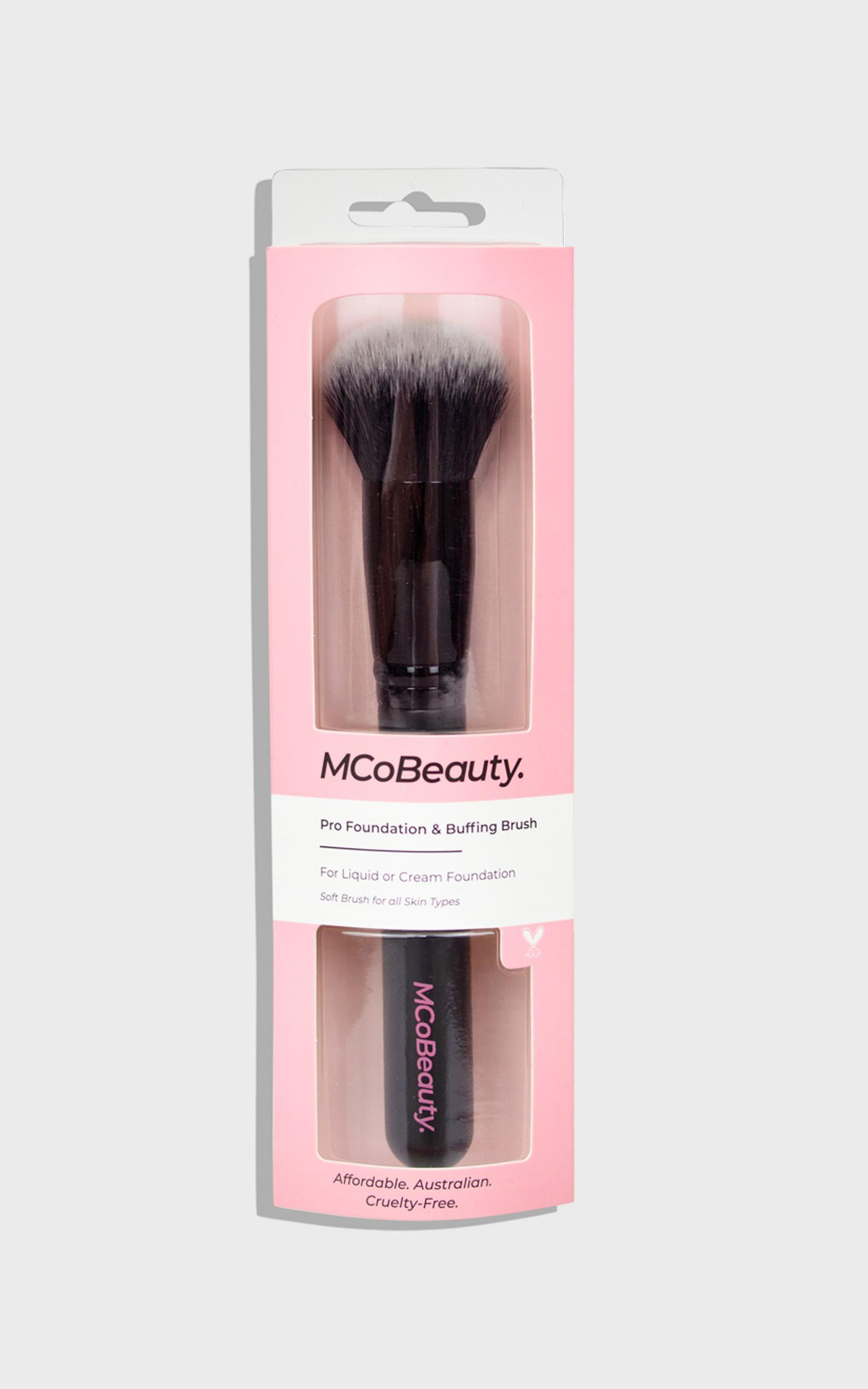 MCoBeauty - Pro Foundation & Buffing Brush, , hi-res image number null