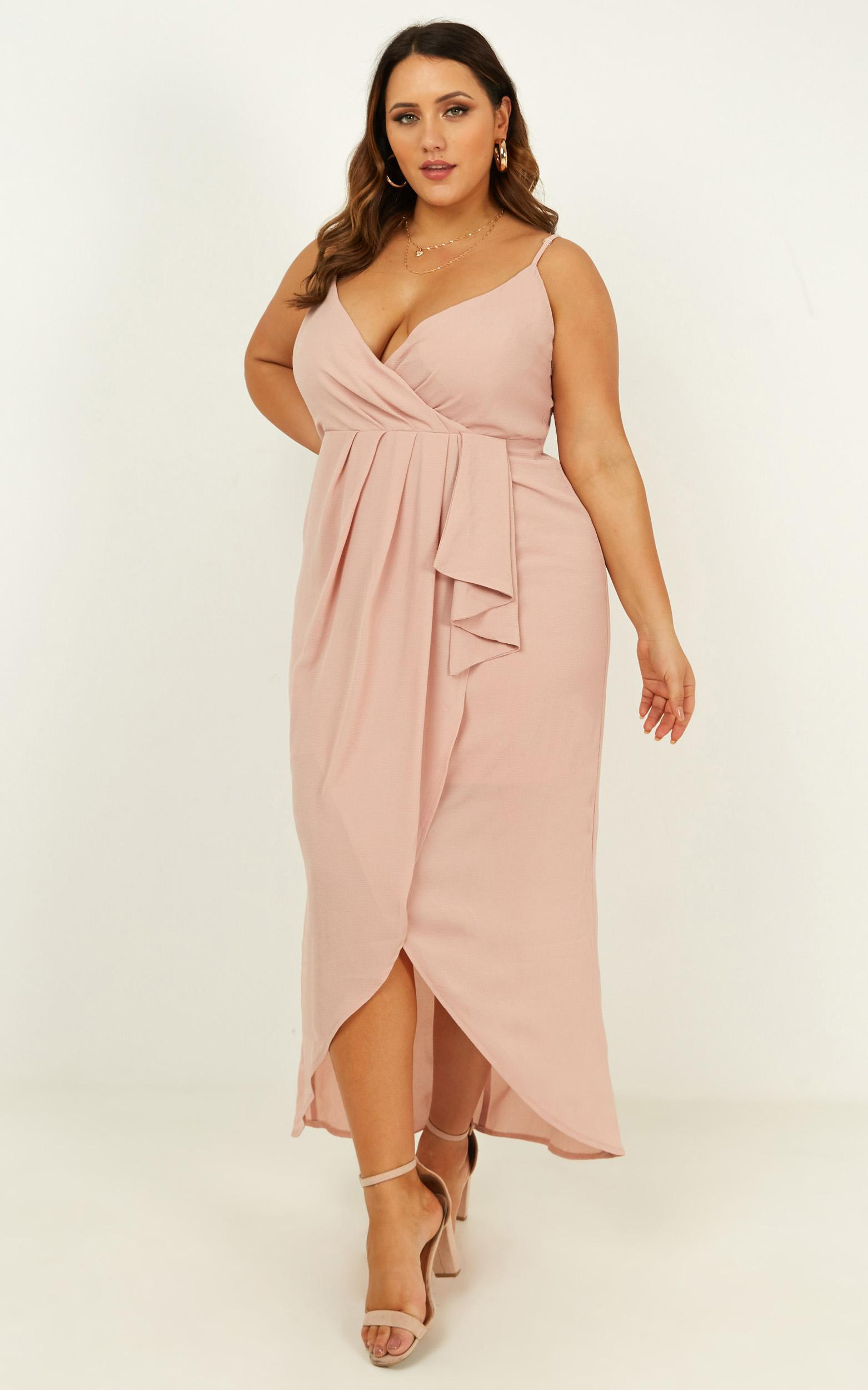 Gave Me You Dress in blush - 8 (S), Blush, hi-res image number null