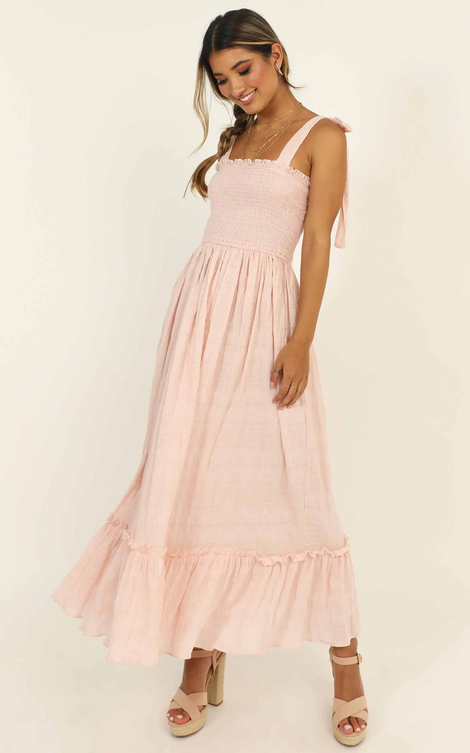 Care About You Dress In blush - 14 (XL), Blush, hi-res image number null
