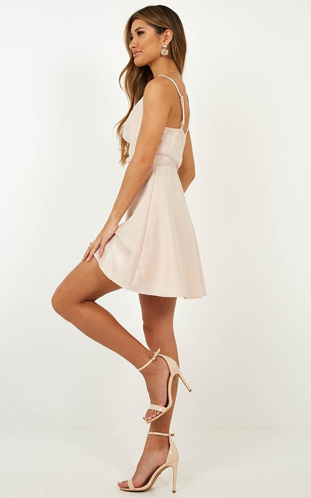 Lifes A Party Dress in blush satin - 20 (XXXXL), Blush, hi-res image number null