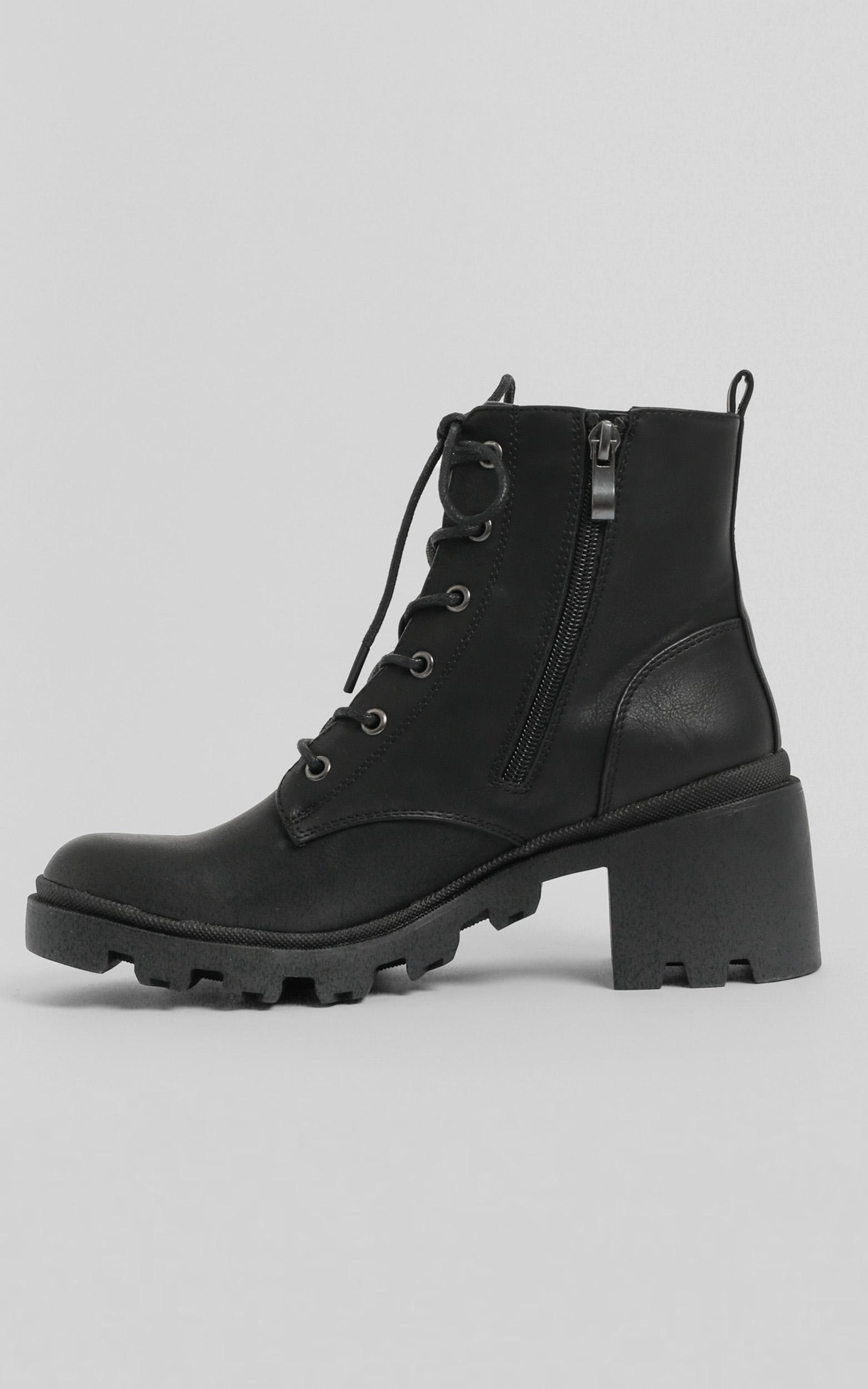 Verali - Tonka Boots in black softee - 5, Black, hi-res image number null