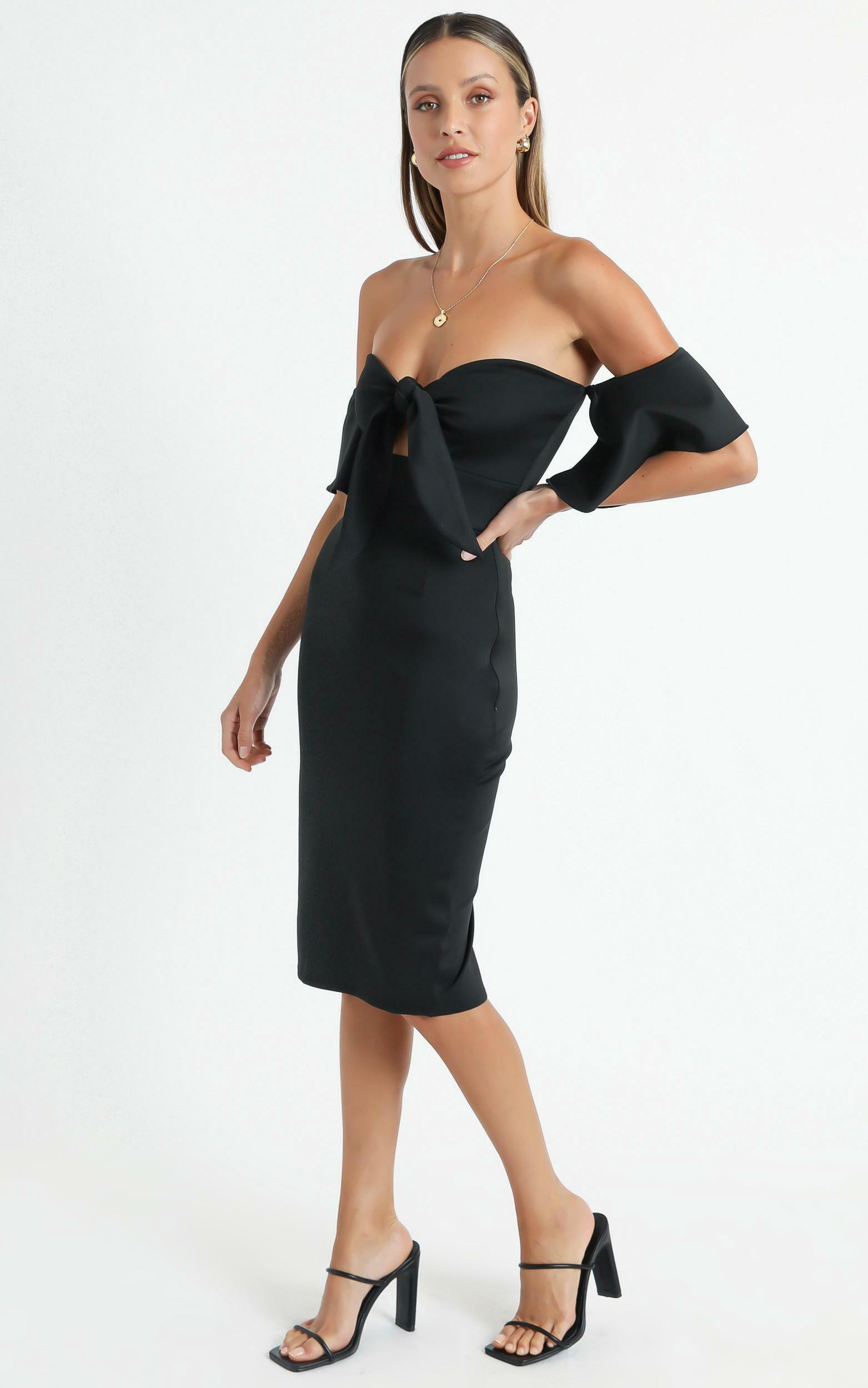 Guest Edit Dress in Black - 20 (XXXXL), Black, hi-res image number null