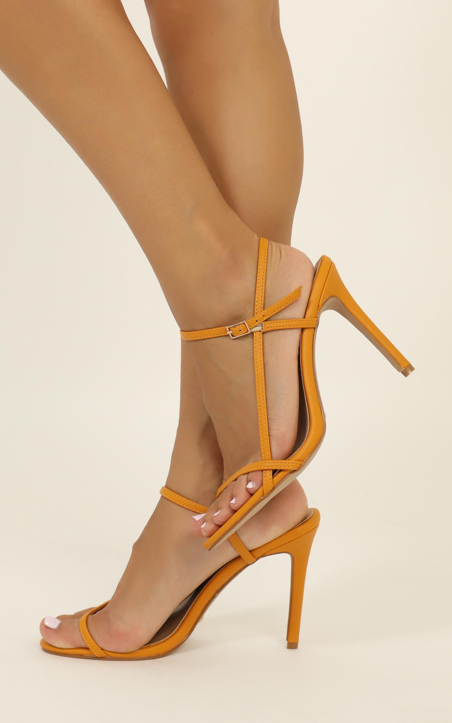 Billini - Tilly heels in spice - 10, Orange, hi-res image number null