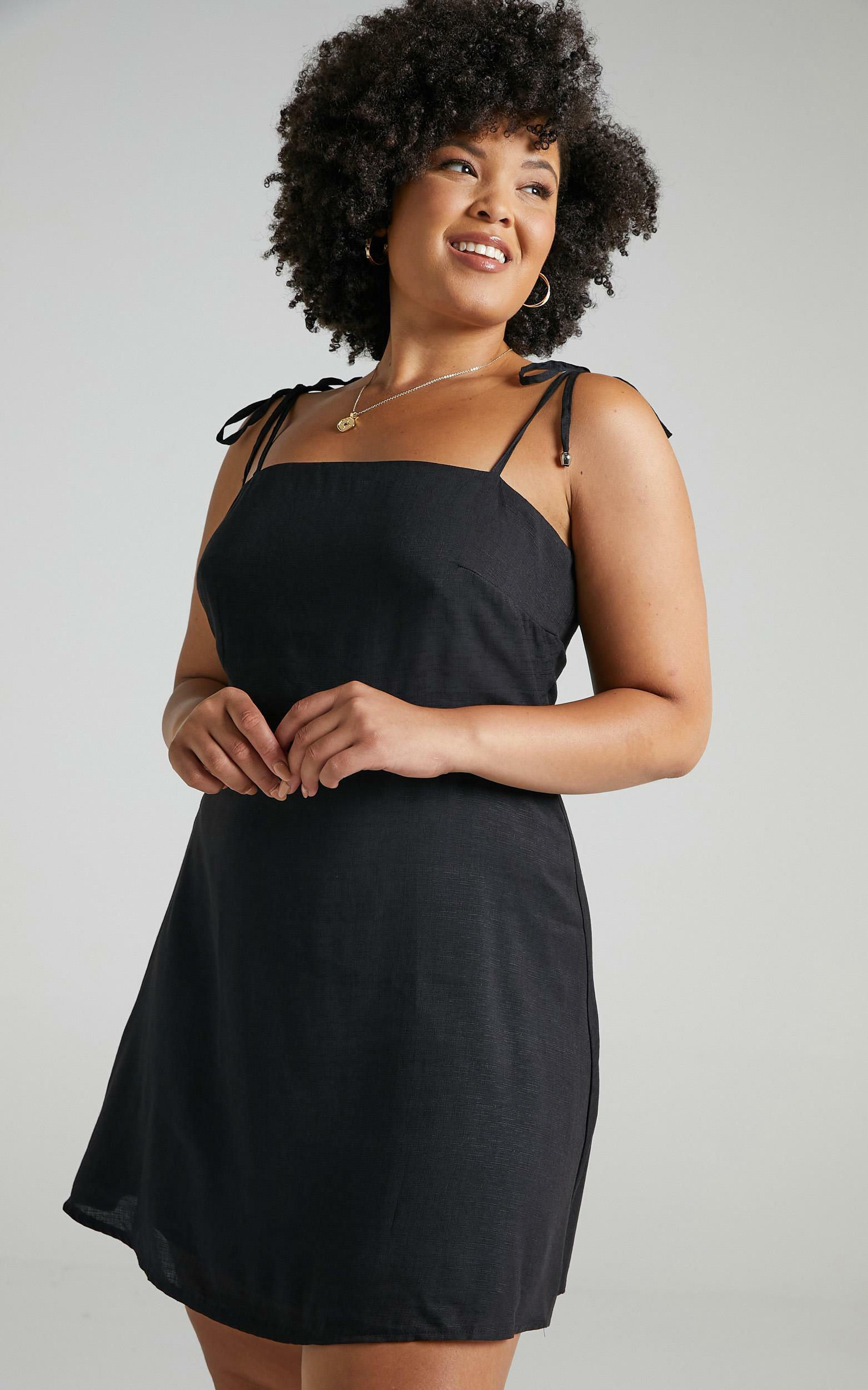 Afternoon Glow Dress in Charcoal - 20, GRY1, hi-res image number null