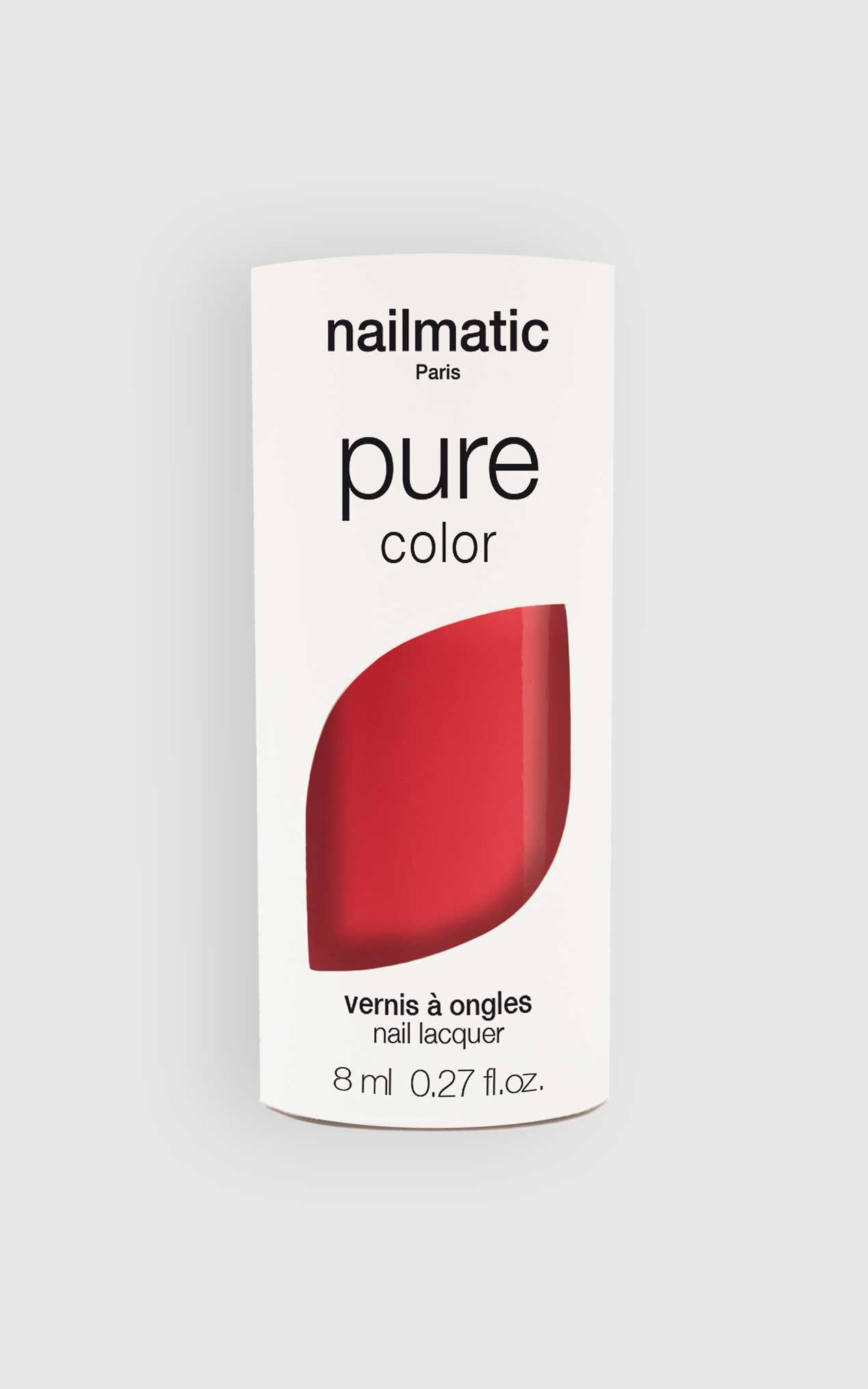 Nailmatic - Pure Color Hedi Nail Polish in Coral, PNK2, hi-res image number null