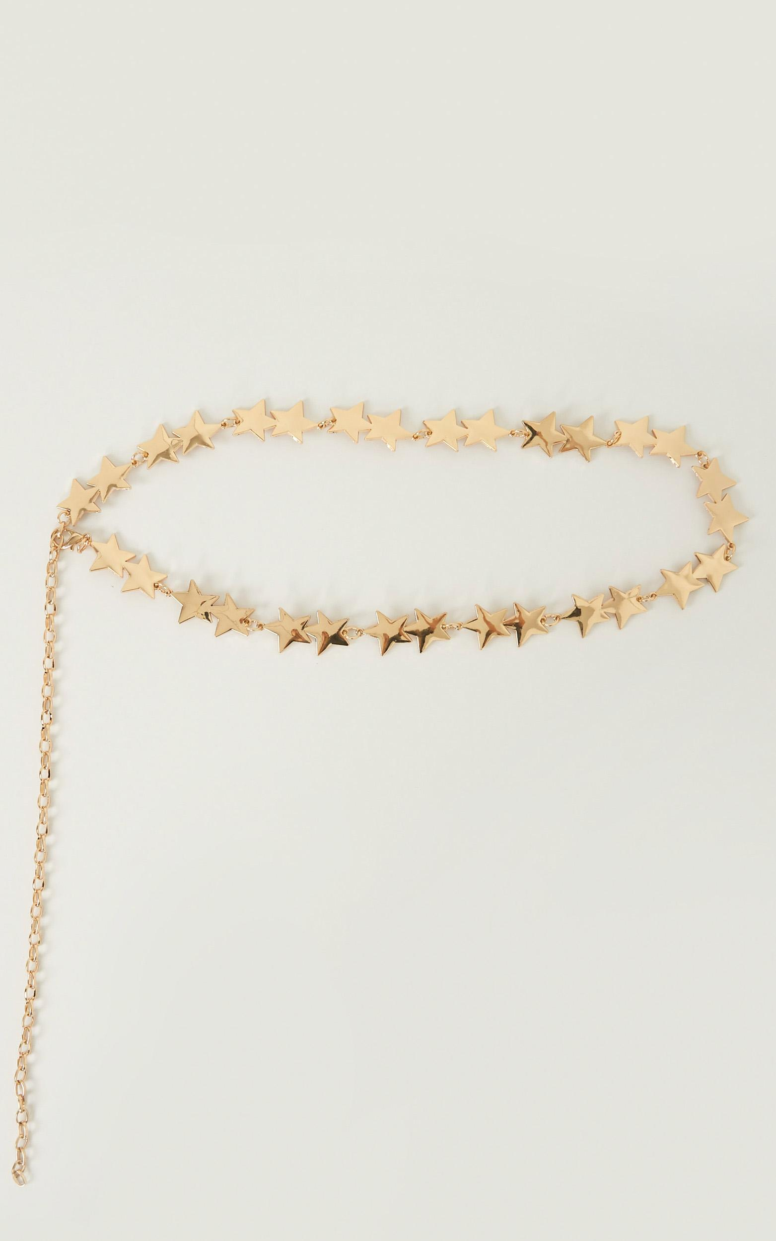 Touch The Sky Chain Belt In Gold, GLD1, hi-res image number null