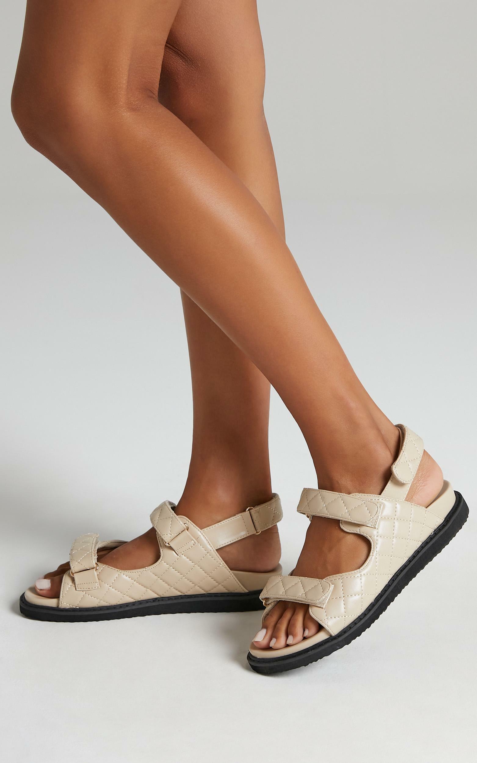 Billini - Zora Sandals in Light Taupe - 5, Beige, hi-res image number null