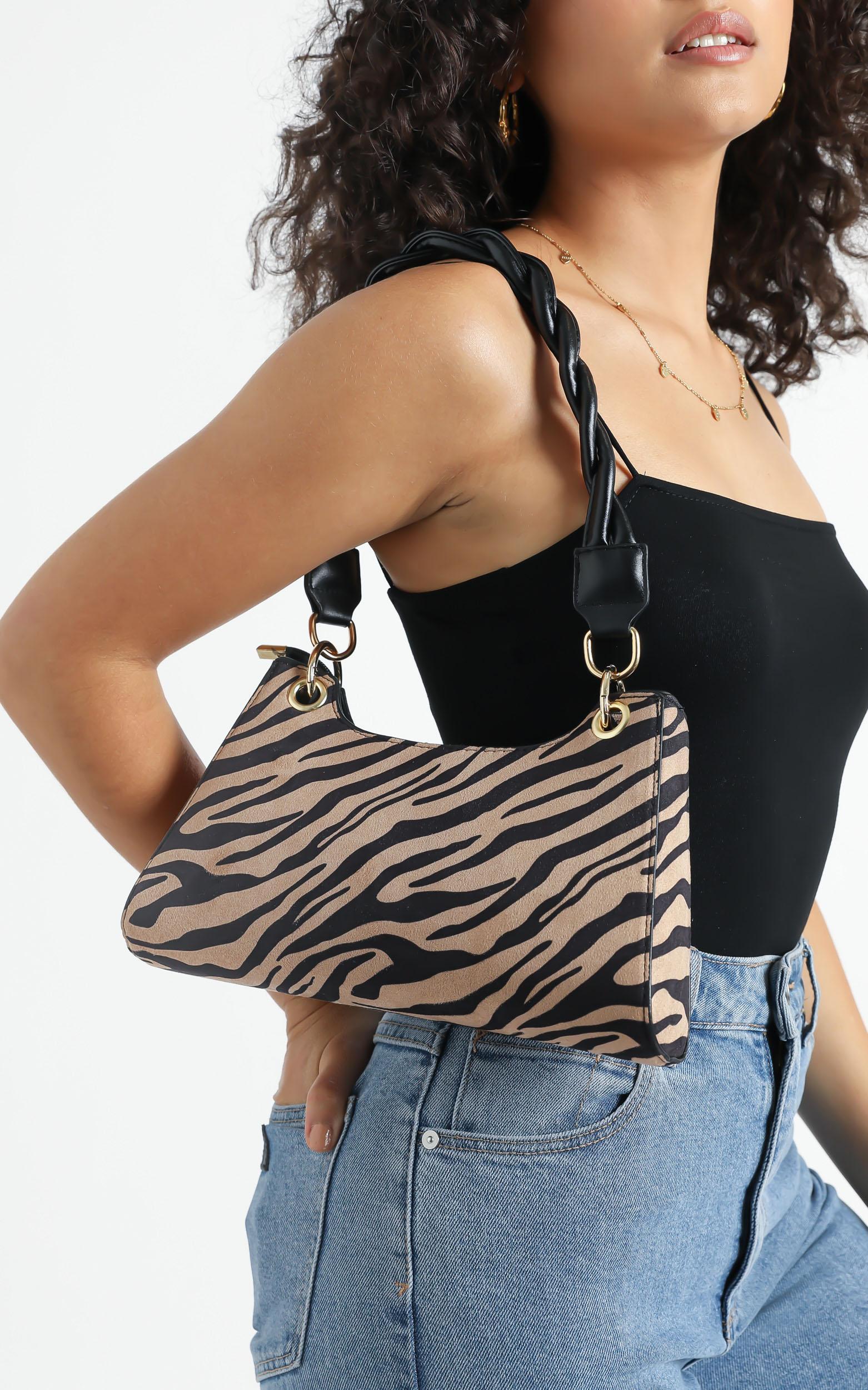 Luz Bag in Zebra Print, , hi-res image number null