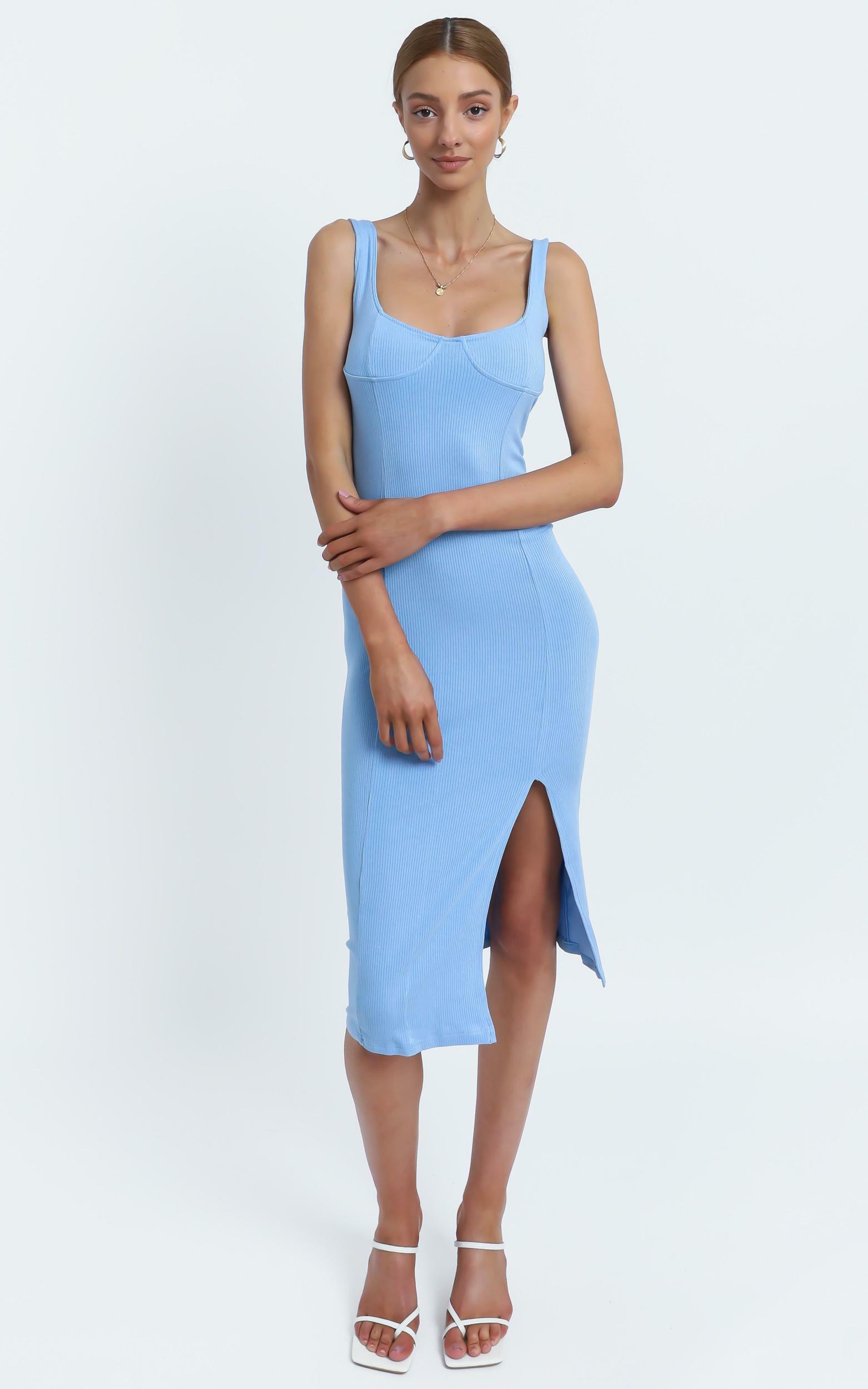 Bliss Dress in Blue - 12 (L), Blue, hi-res image number null