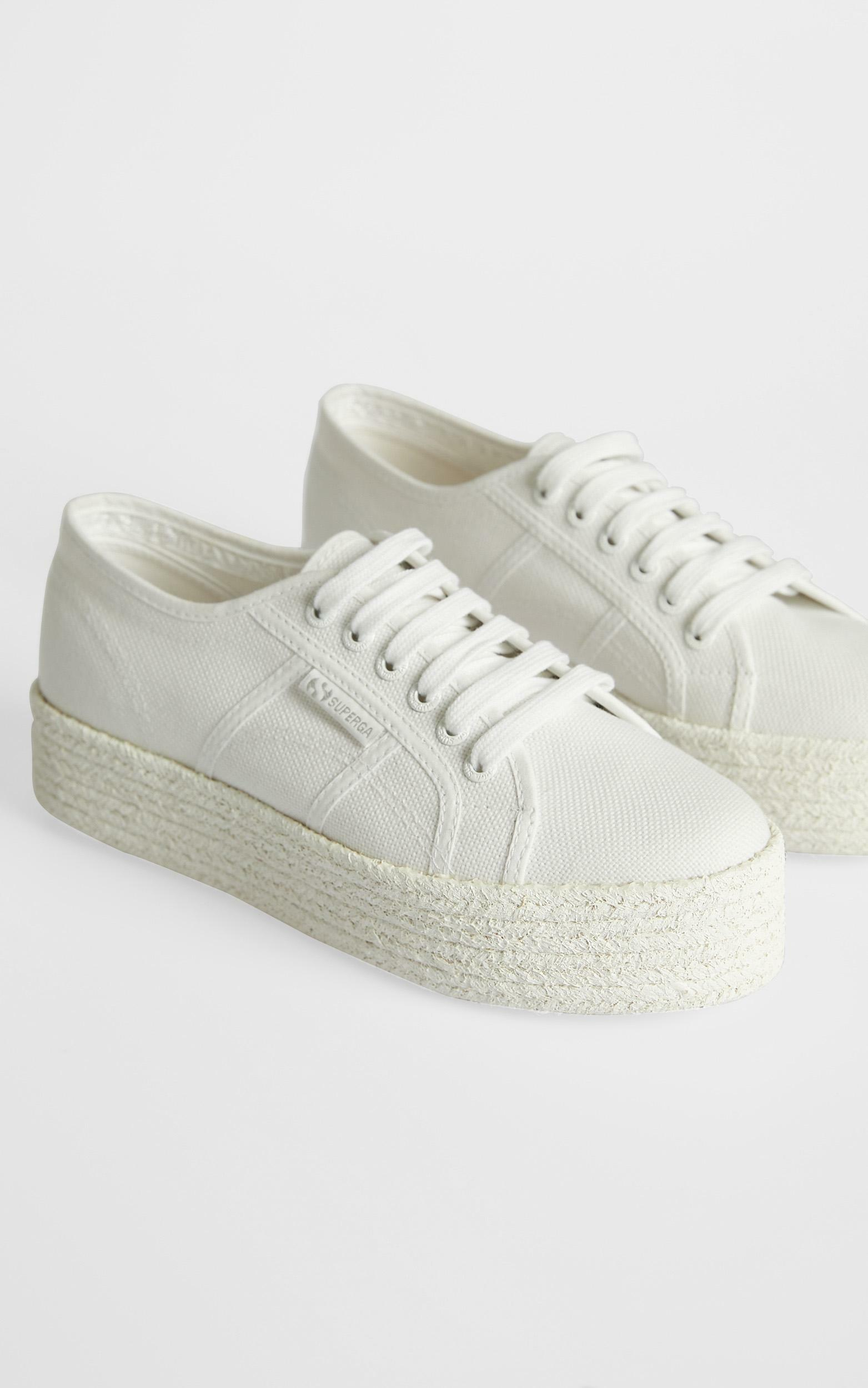 Superga - 2790 COT Color Rope in total white - 5, Clear, hi-res image number null