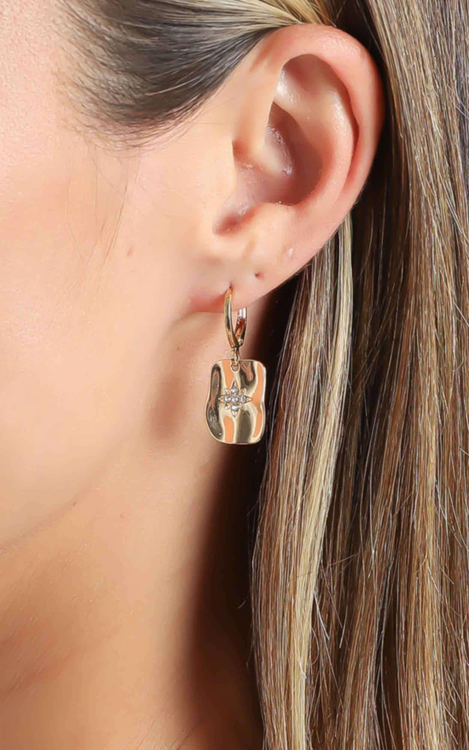 Multi Pack Earrings Set in Gold, , hi-res image number null