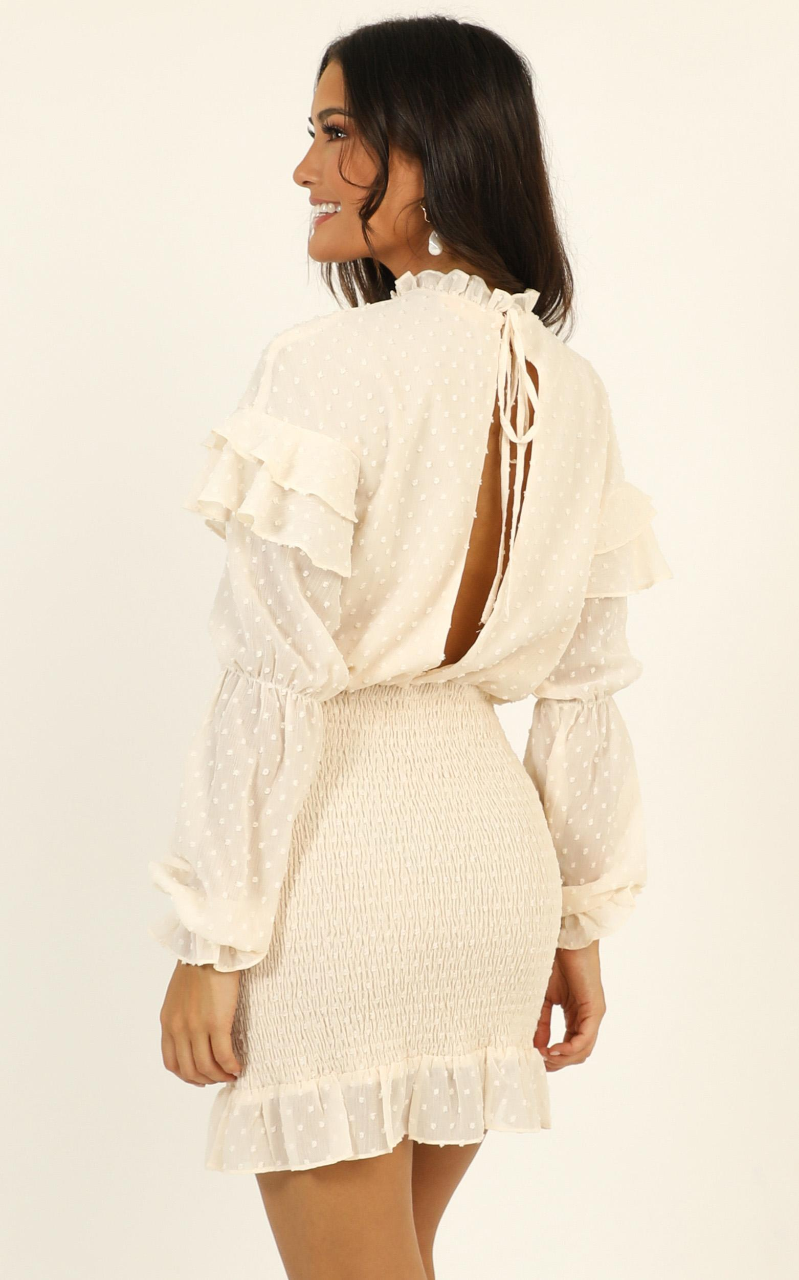 Dreaming about it Dress in cream - 20 (XXXXL), Cream, hi-res image number null