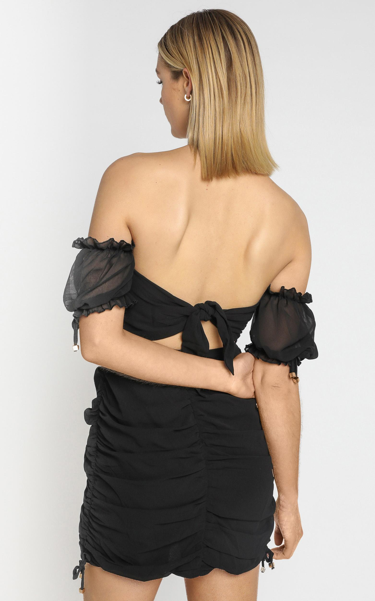 Cant Get You Off My Mind Dress in black - 4 (XXS), Black, hi-res image number null