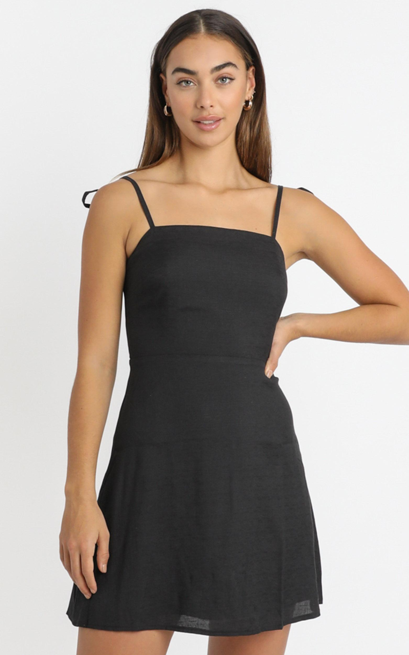 Afternoon Glow Dress in charcoal - 20 (XXXXL), Charcoal, hi-res image number null