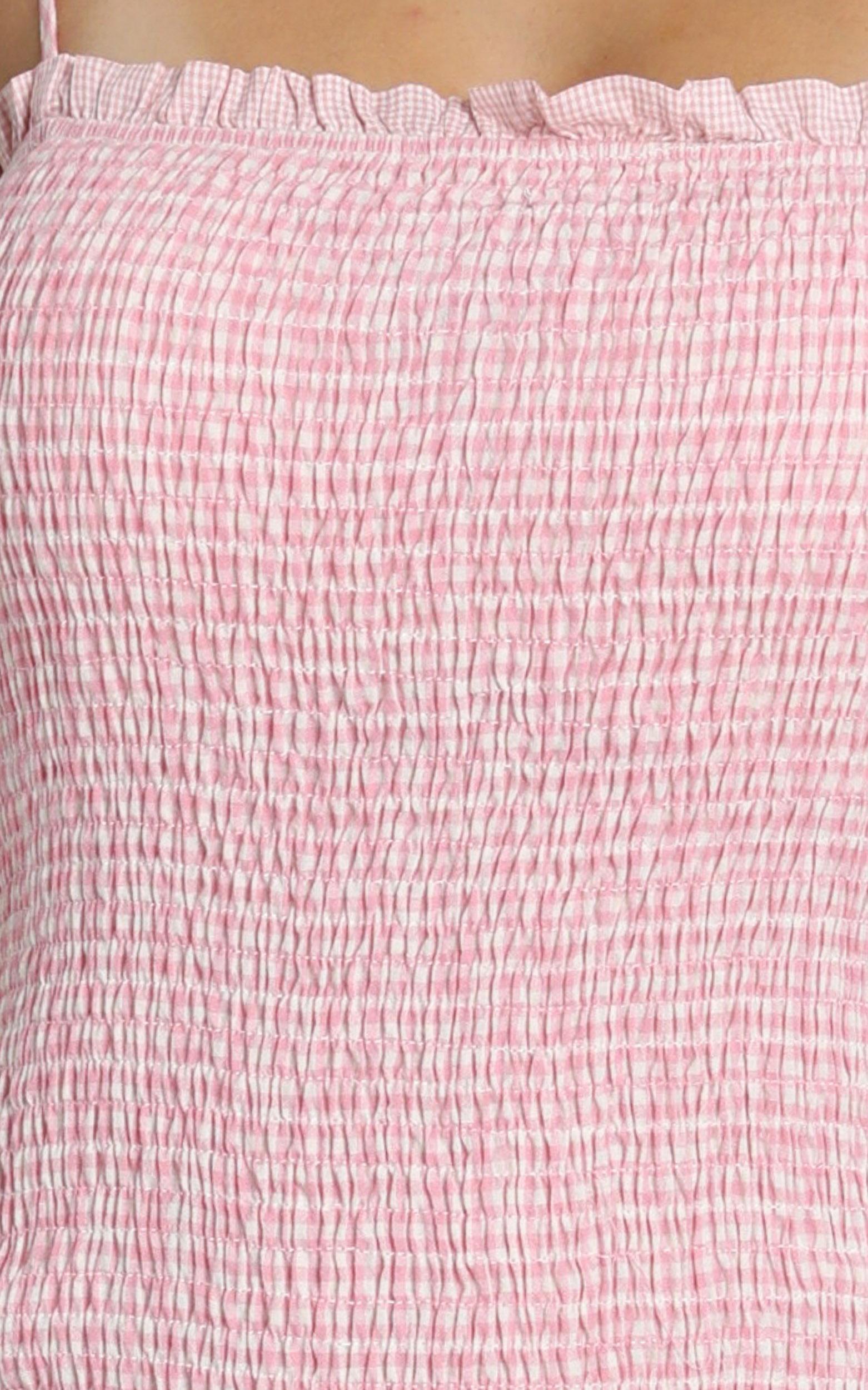 Diaz Dress in pink - 8 (S), Pink, hi-res image number null