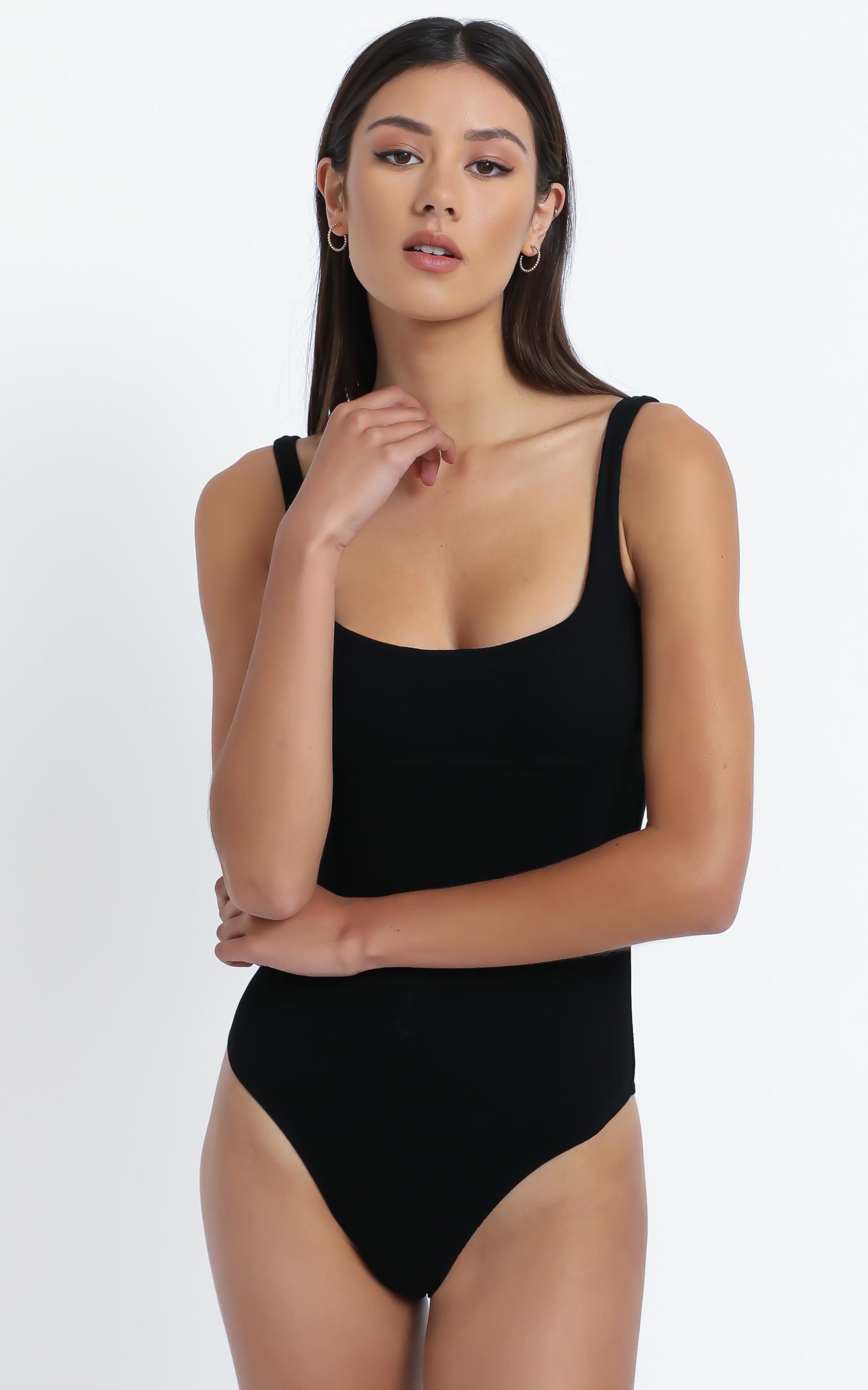 Delta Bodysuit in Black - 12 (L), Black, hi-res image number null