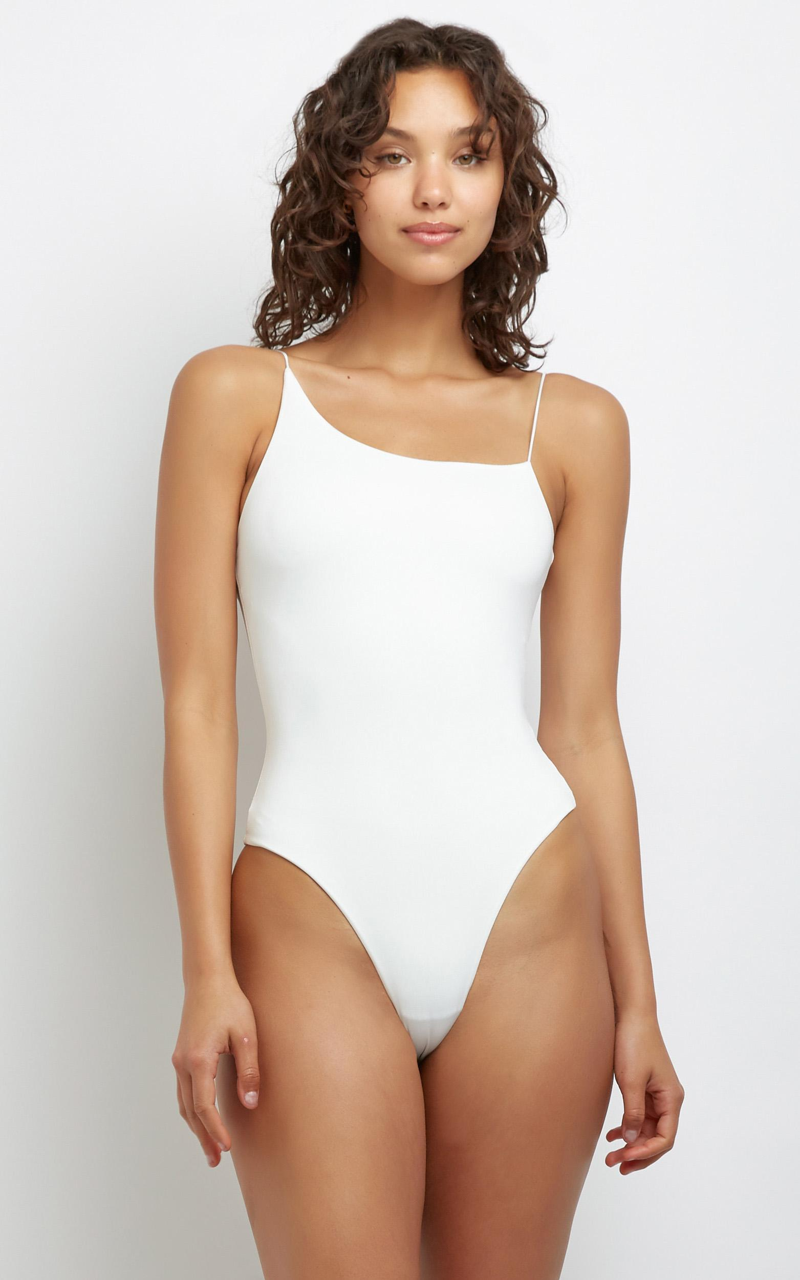 Baylee Bodysuit in White - 12 (L), White, hi-res image number null