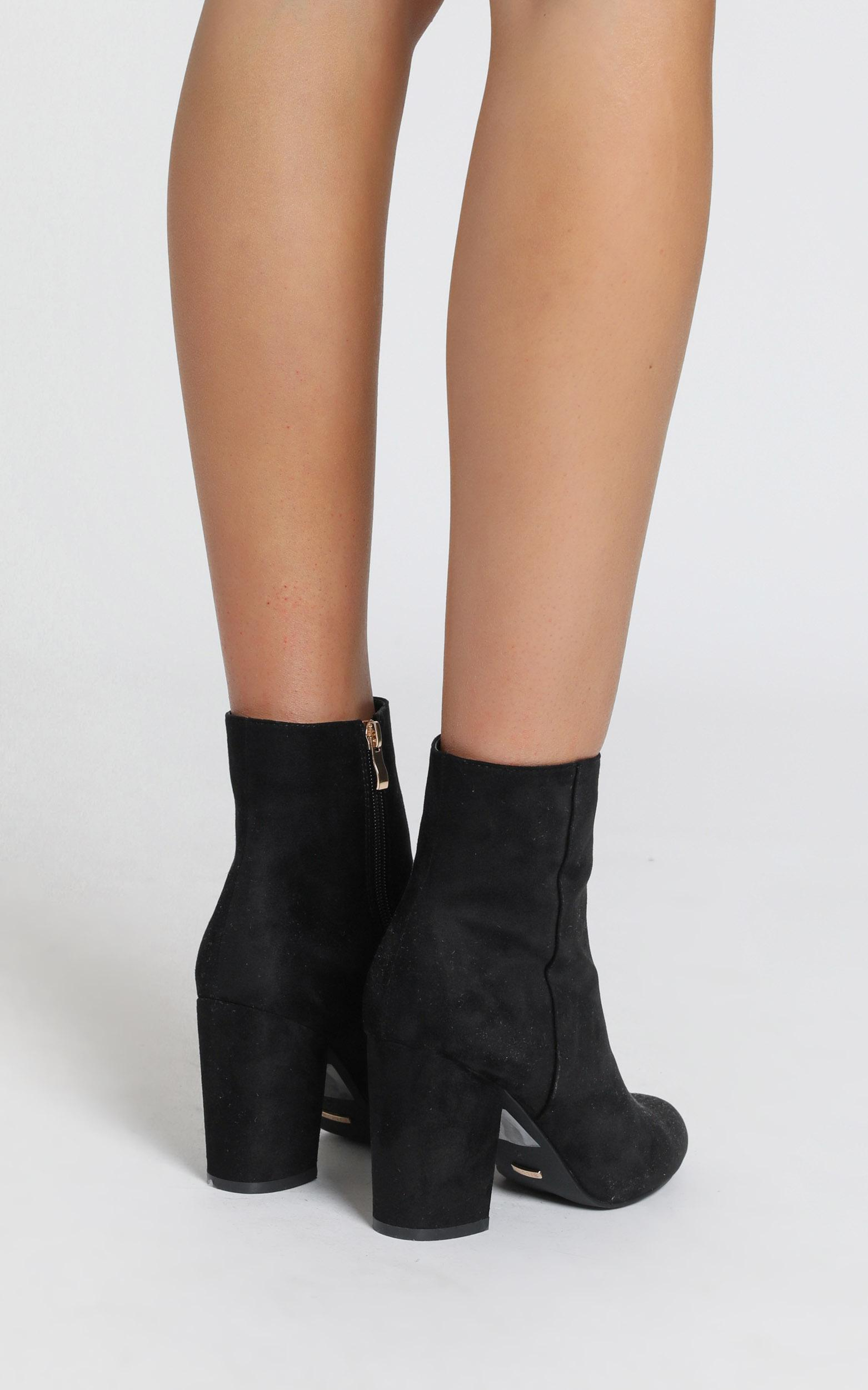 Billini - Darcy Boots in black micro - 5, Black, hi-res image number null