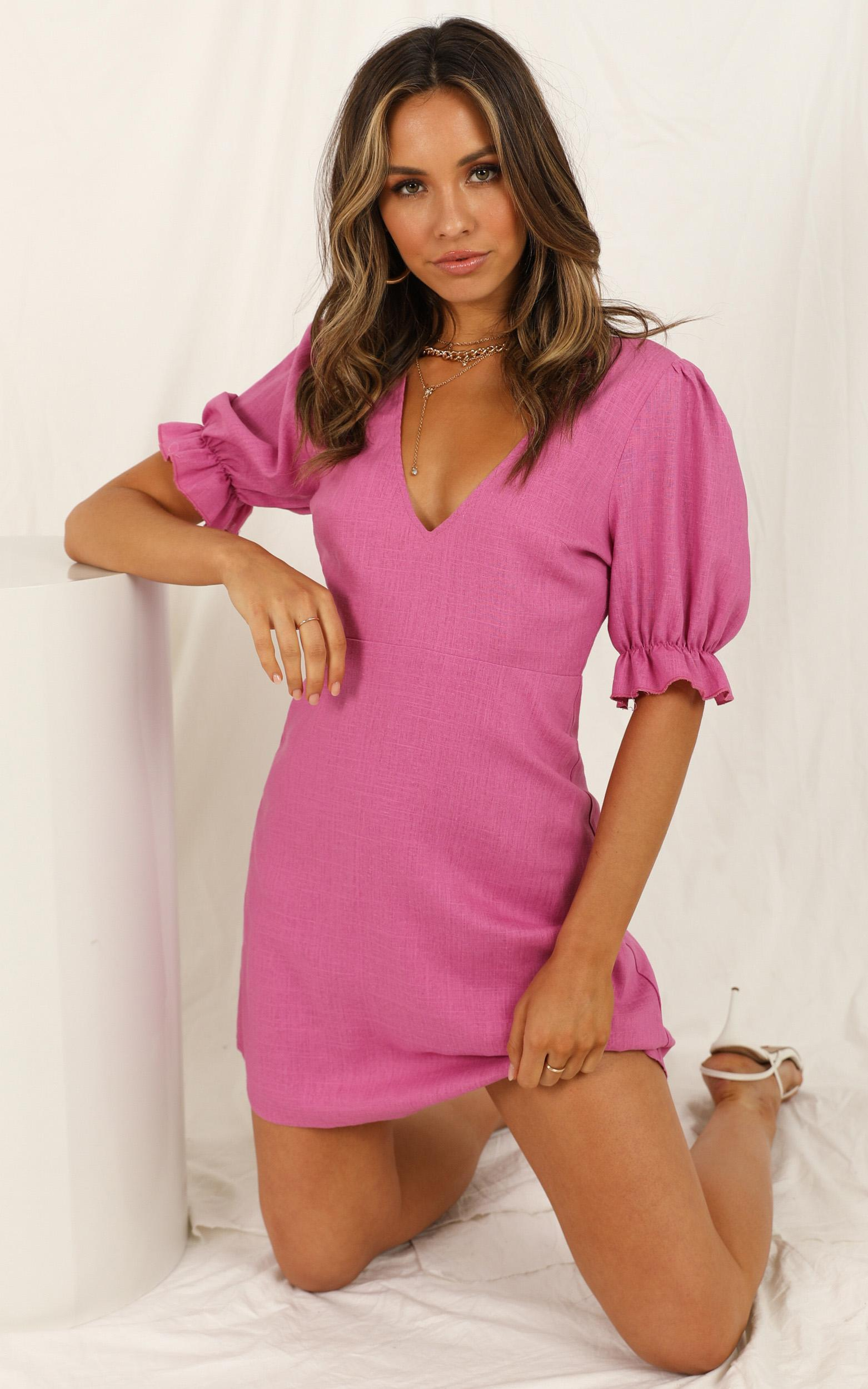 Park Run Dress in pink - 20 (XXXXL), Pink, hi-res image number null