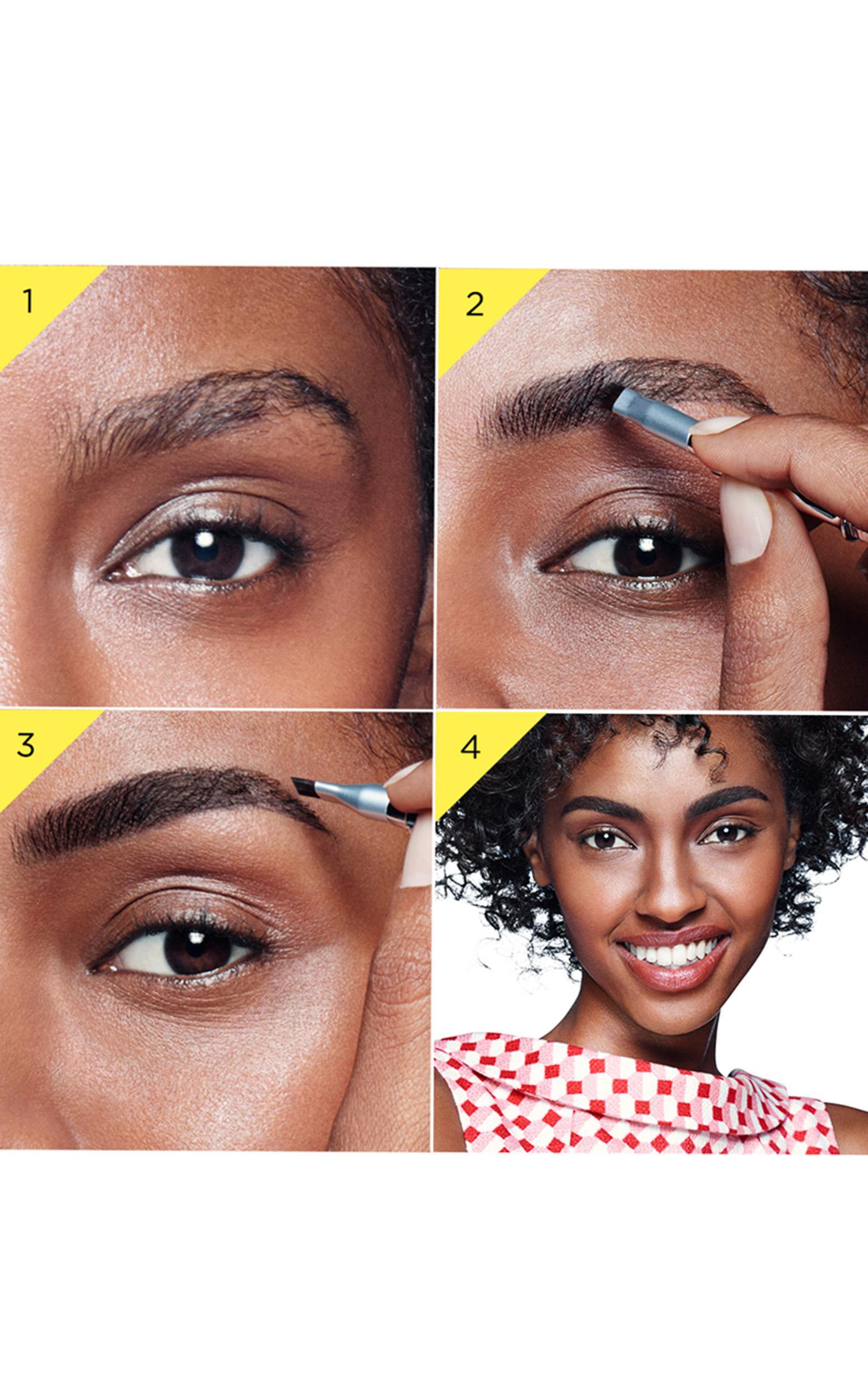 Benefit Cosmetics - Ka-BROW! Eyebrow Cream-Gel Colour in 6 - Cool Soft Black, Black, hi-res image number null