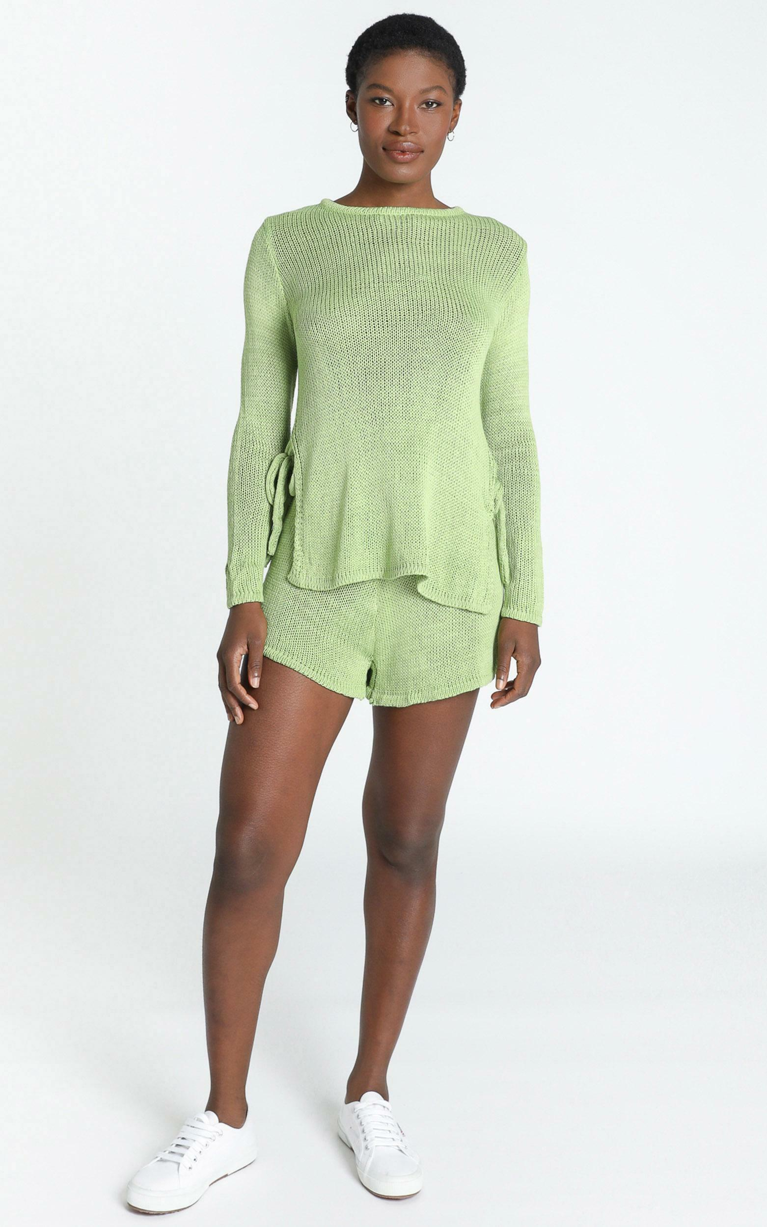Finn Two Piece Set in Green - 8 (S), Green, hi-res image number null