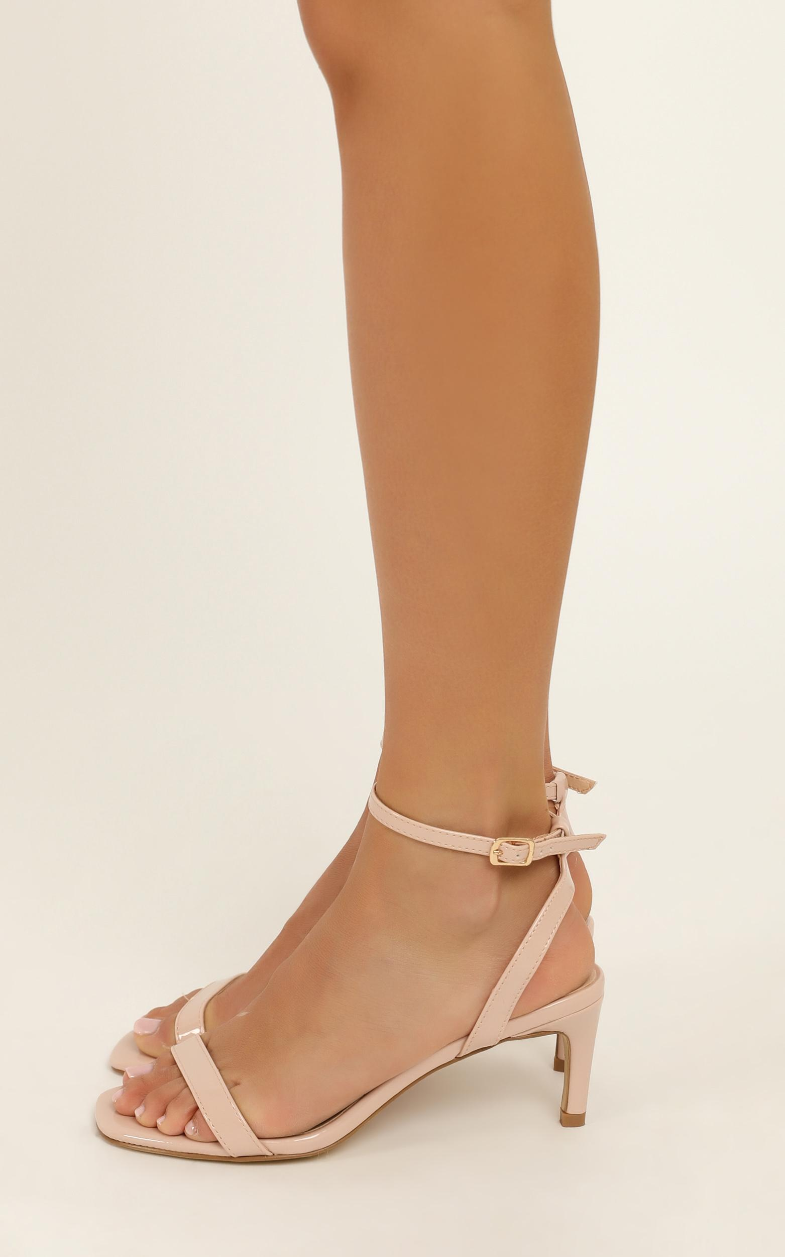 Verali - Valencia Heels in nude patent - 10, Beige, hi-res image number null