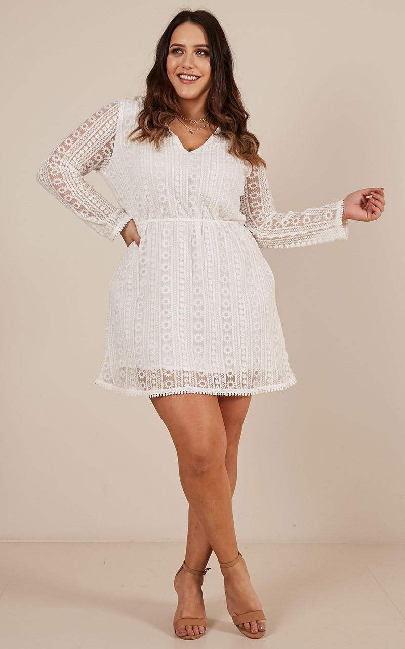 Your best self dress in White - 4 (XXS), White, hi-res image number null