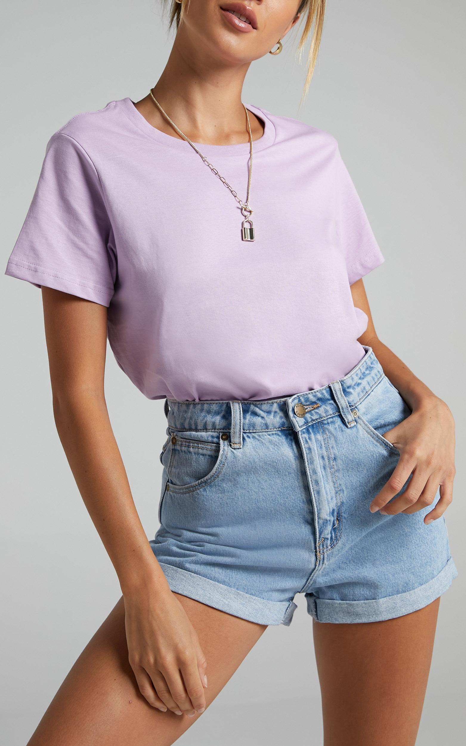 AS Colour - Maple Tee in Lavender - XS, Purple, hi-res image number null