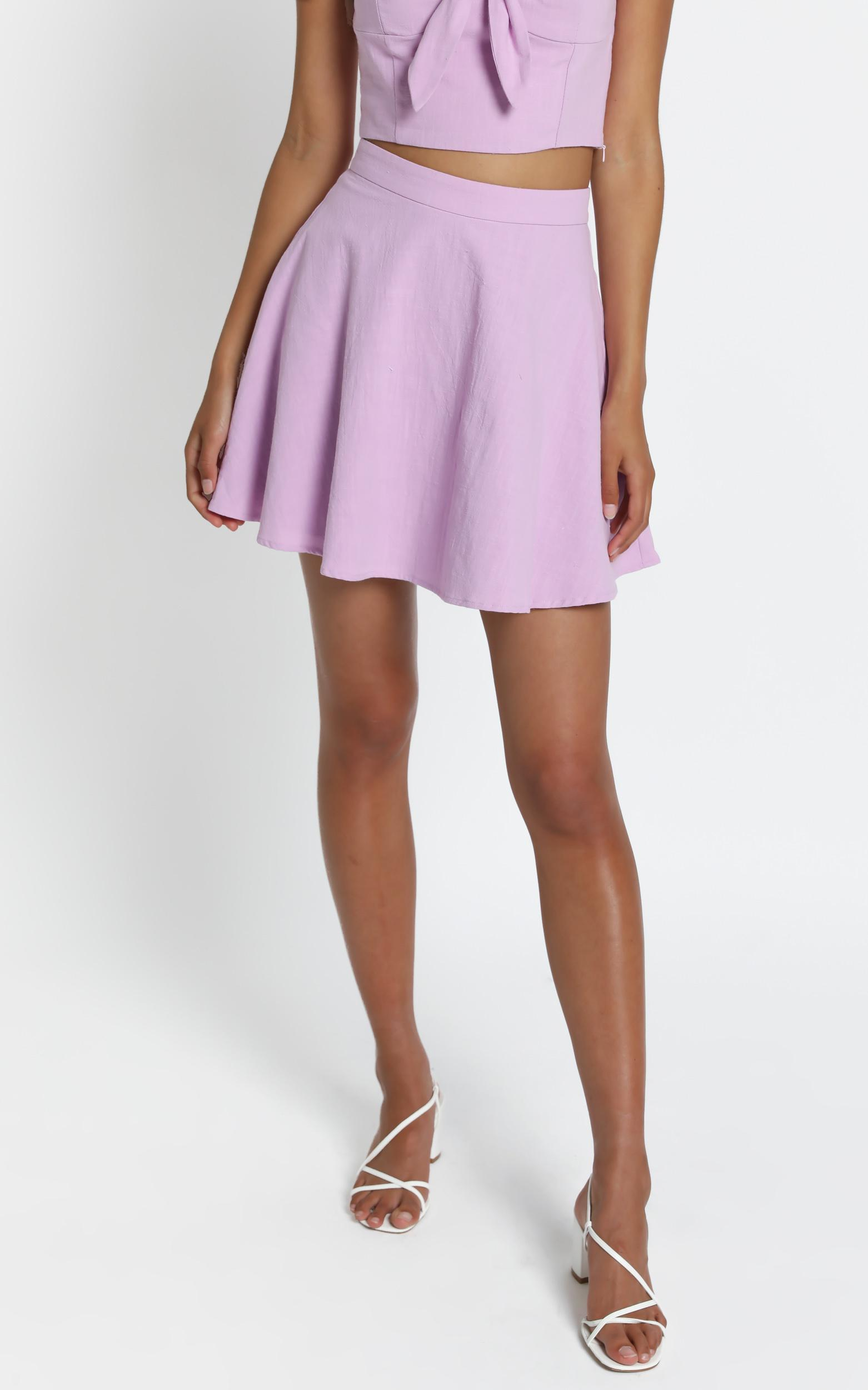 Pei Skirt in Lilac - 6 (XS), Purple, hi-res image number null