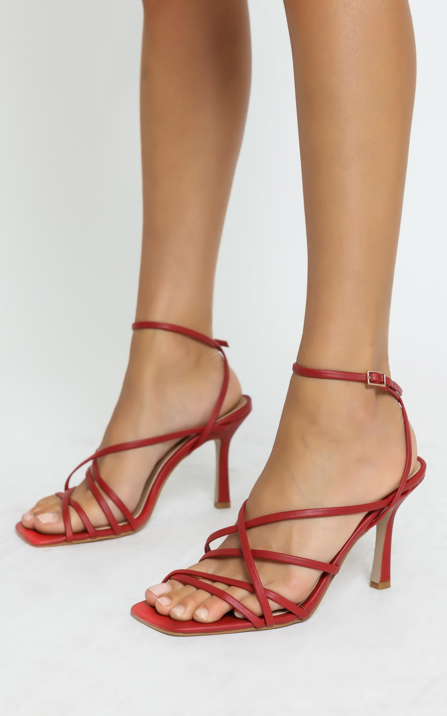Billini - Scout Heels in Dark Red - 5, RED1, hi-res image number null