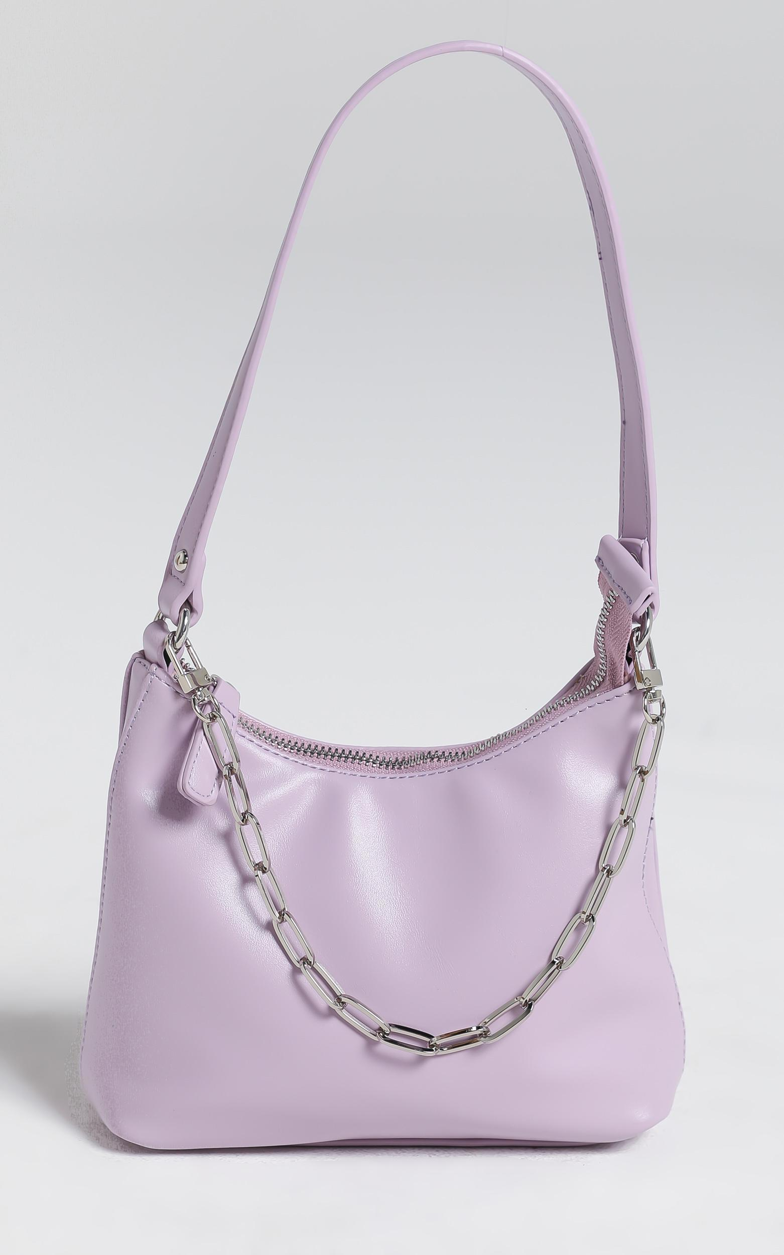 Georgia Mae - The Ryder Bag in Lilac, , hi-res image number null