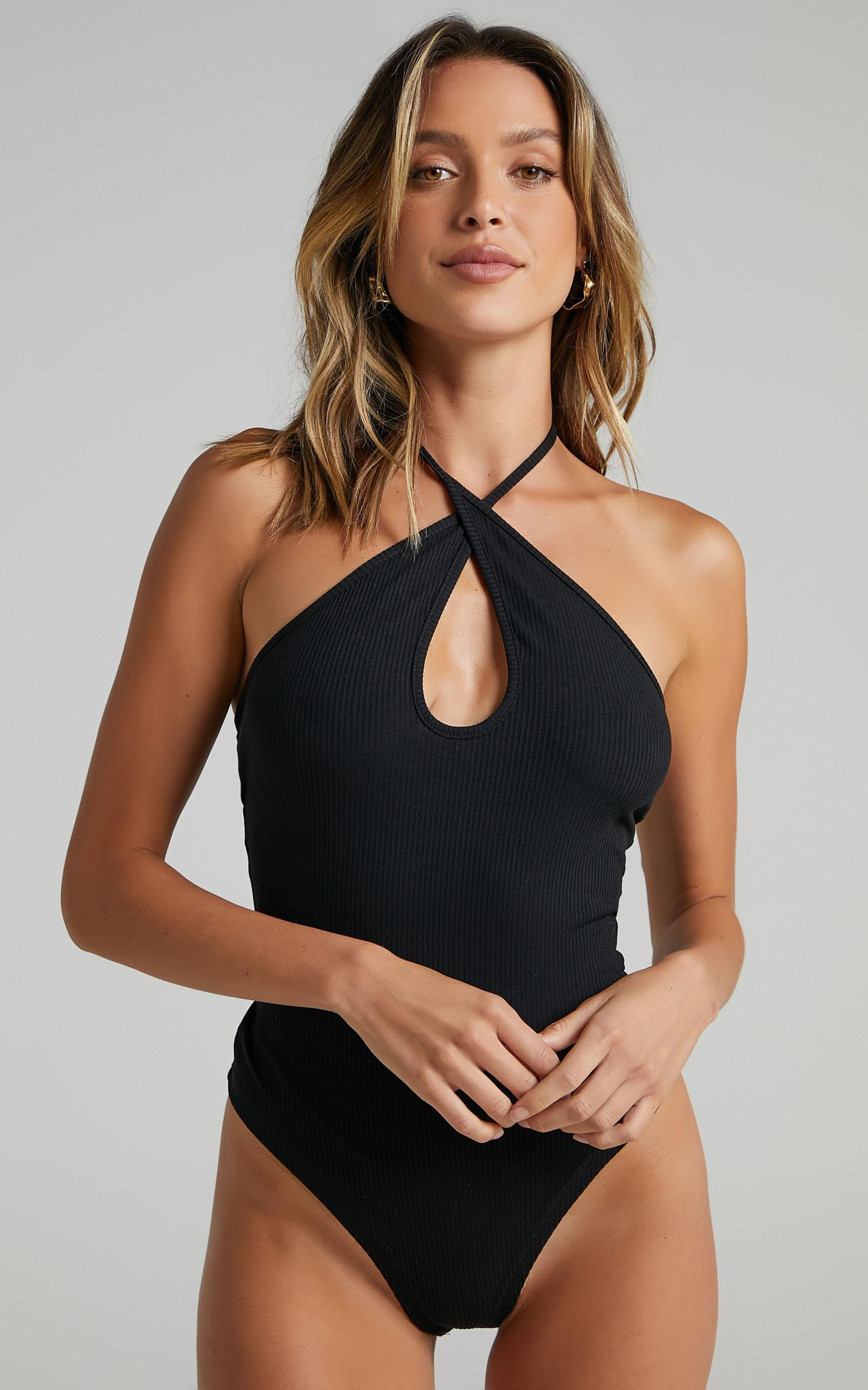 Last Song Bodysuit in black - 20 (XXXXL), Black, hi-res image number null