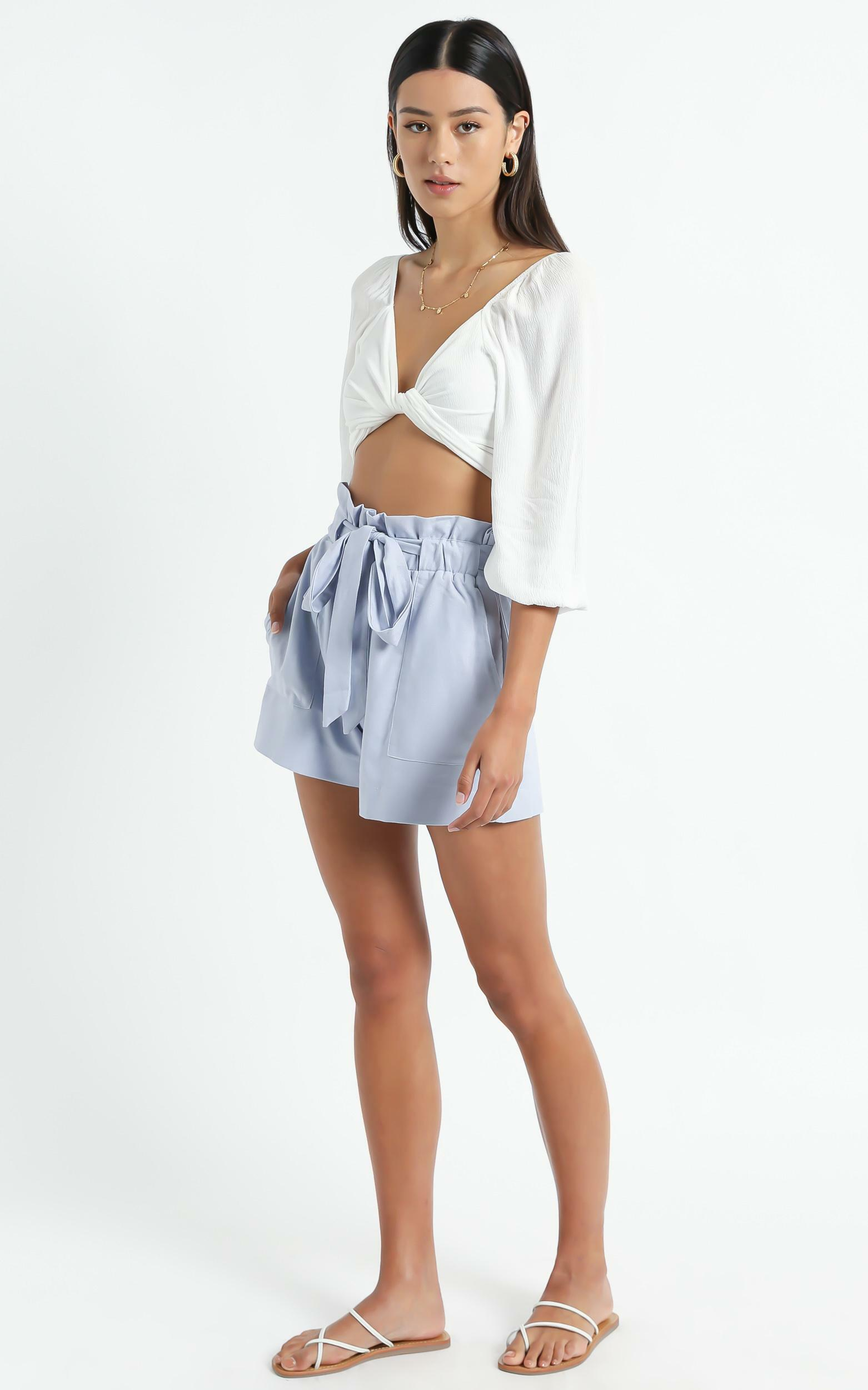 All Rounder Shorts in Powder Blue - 6 (XS), BLU5, hi-res image number null